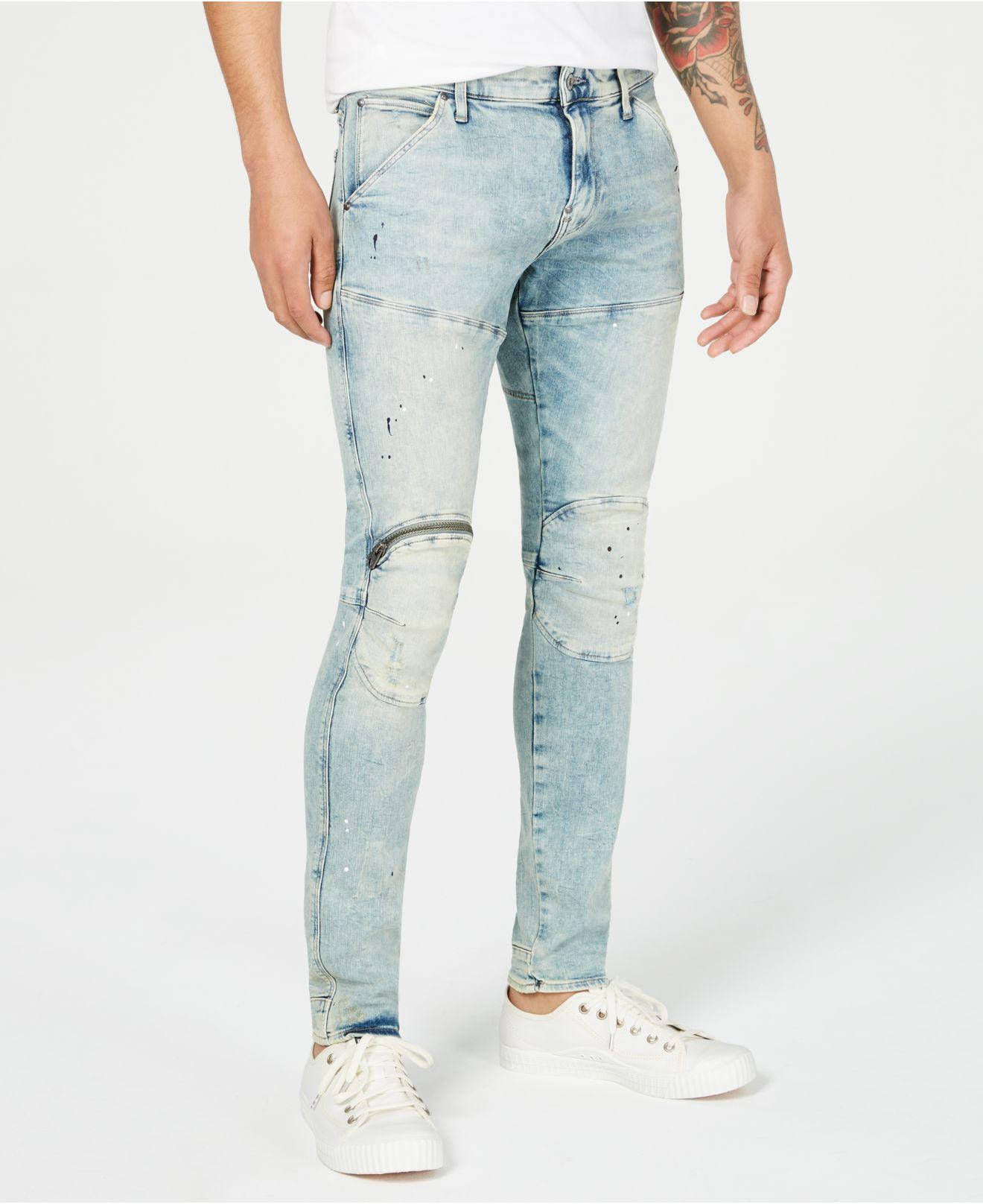 f8eadce60985dd Lyst - G-Star RAW Skinny-fit Jeans, Created For Macy's in Blue for Men