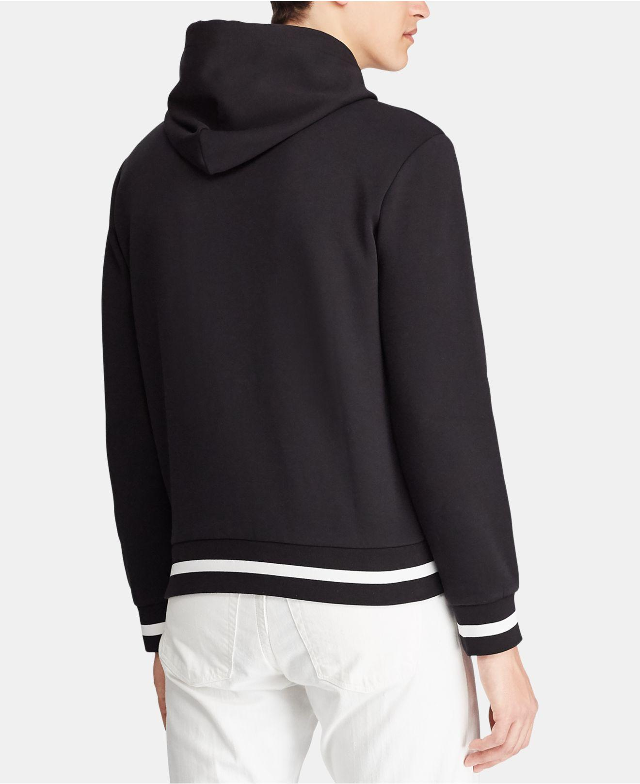 c7d022d8eed0 Lyst - Polo Ralph Lauren Double-knit Graphic Hoodie