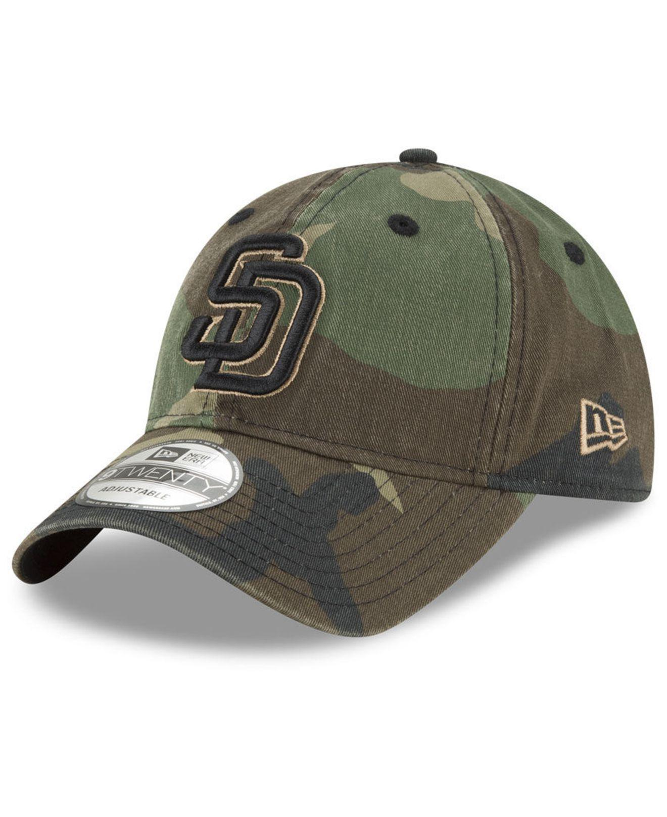 bb1cc83d ... San Diego Padres Camo Core Classic 9twenty Cap for Men - Lyst. View  fullscreen