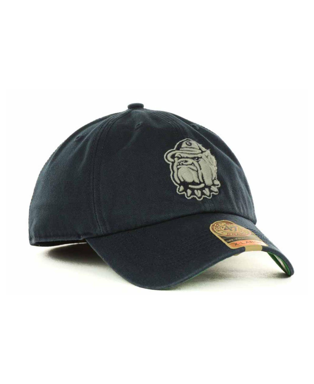 online store 10b6c 78e2a 47 Brand - Blue Georgetown Hoyas Franchise Cap for Men - Lyst. View  fullscreen