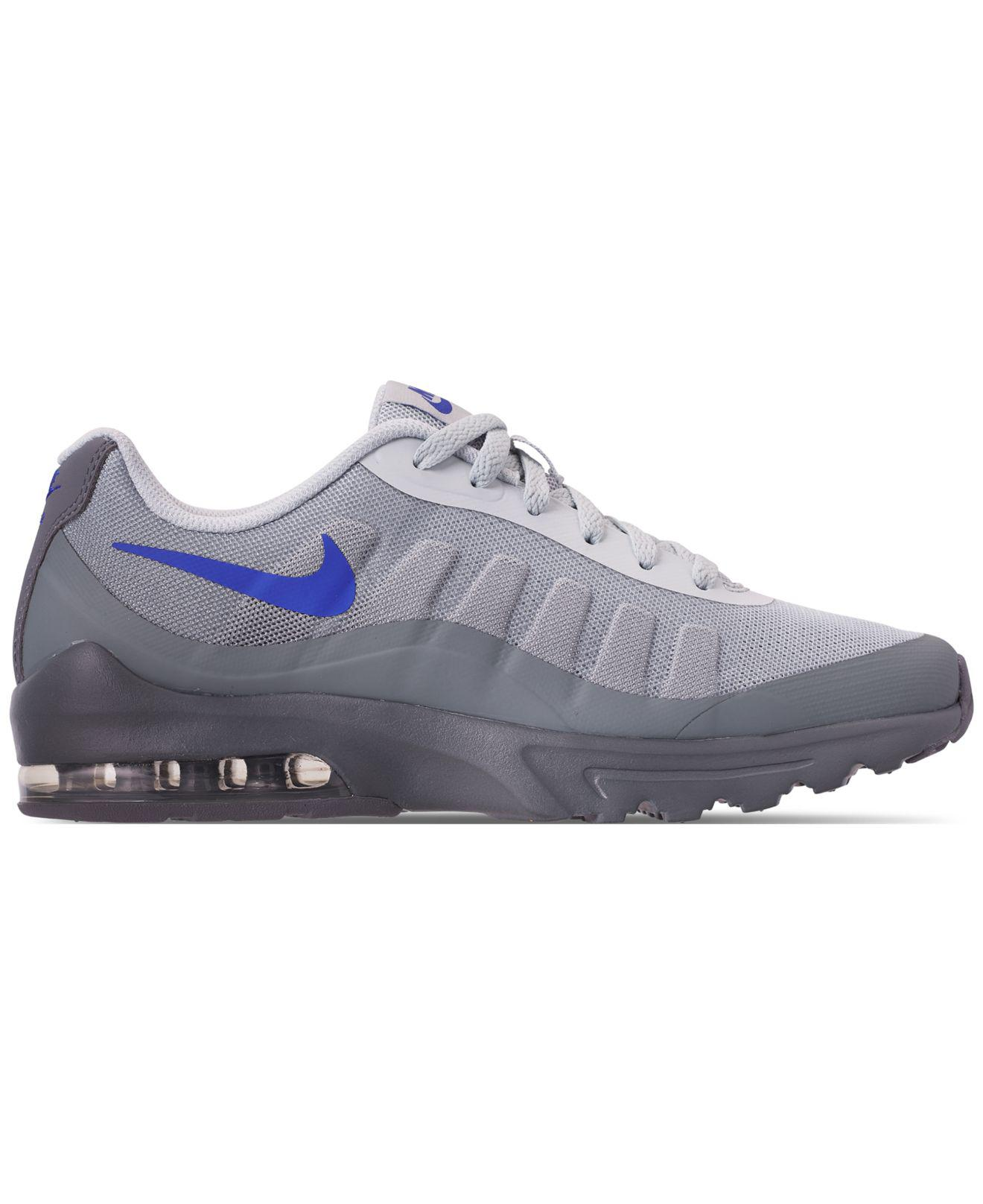 lowest price 03ce1 d4389 Nike - Gray Air Max Invigor Print Running Sneakers From Finish Line for Men  - Lyst. View fullscreen