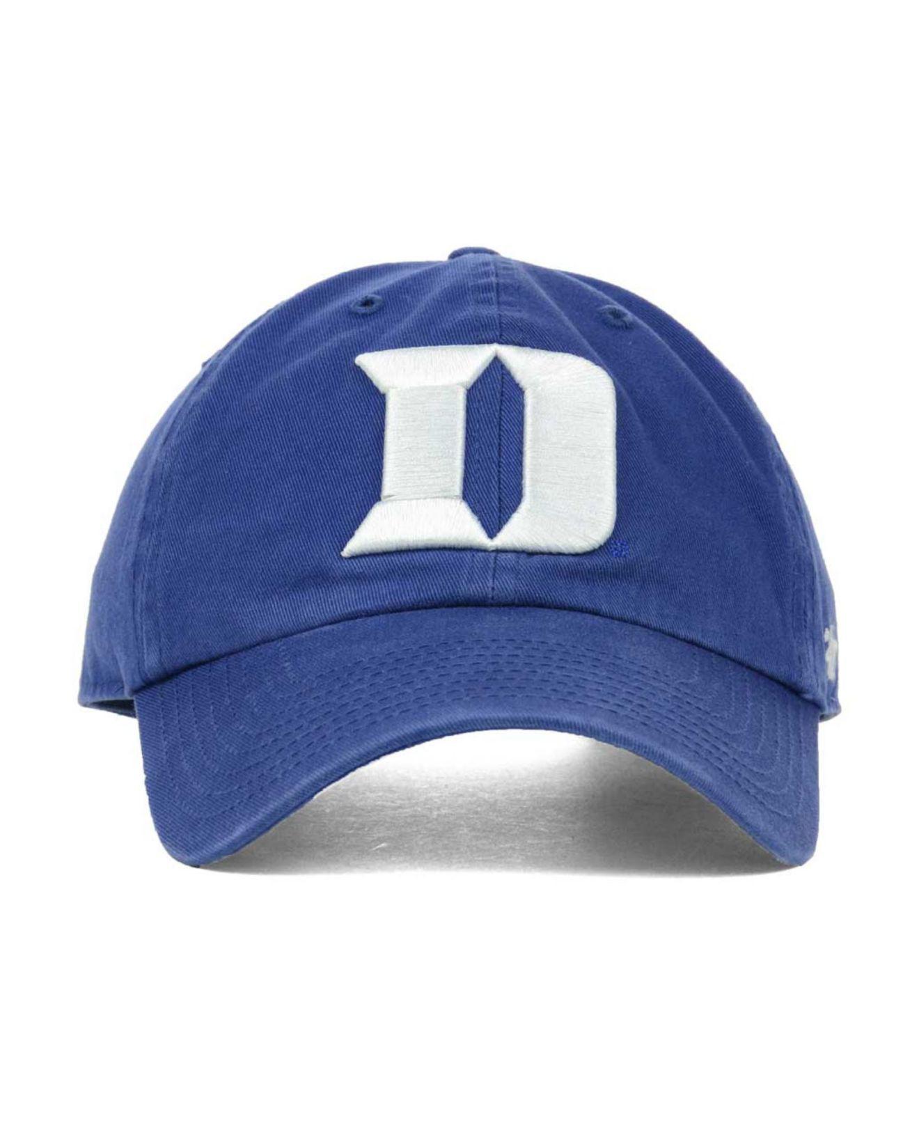 big sale 17b8a bebe3 47 Brand - Duke Blue Devils Clean-up Cap for Men - Lyst. View fullscreen