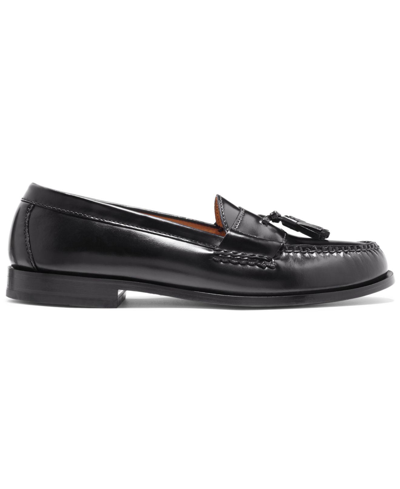 516503a4411 Lyst - Cole Haan Pinch Tasseled City Moccasins in Black for Men