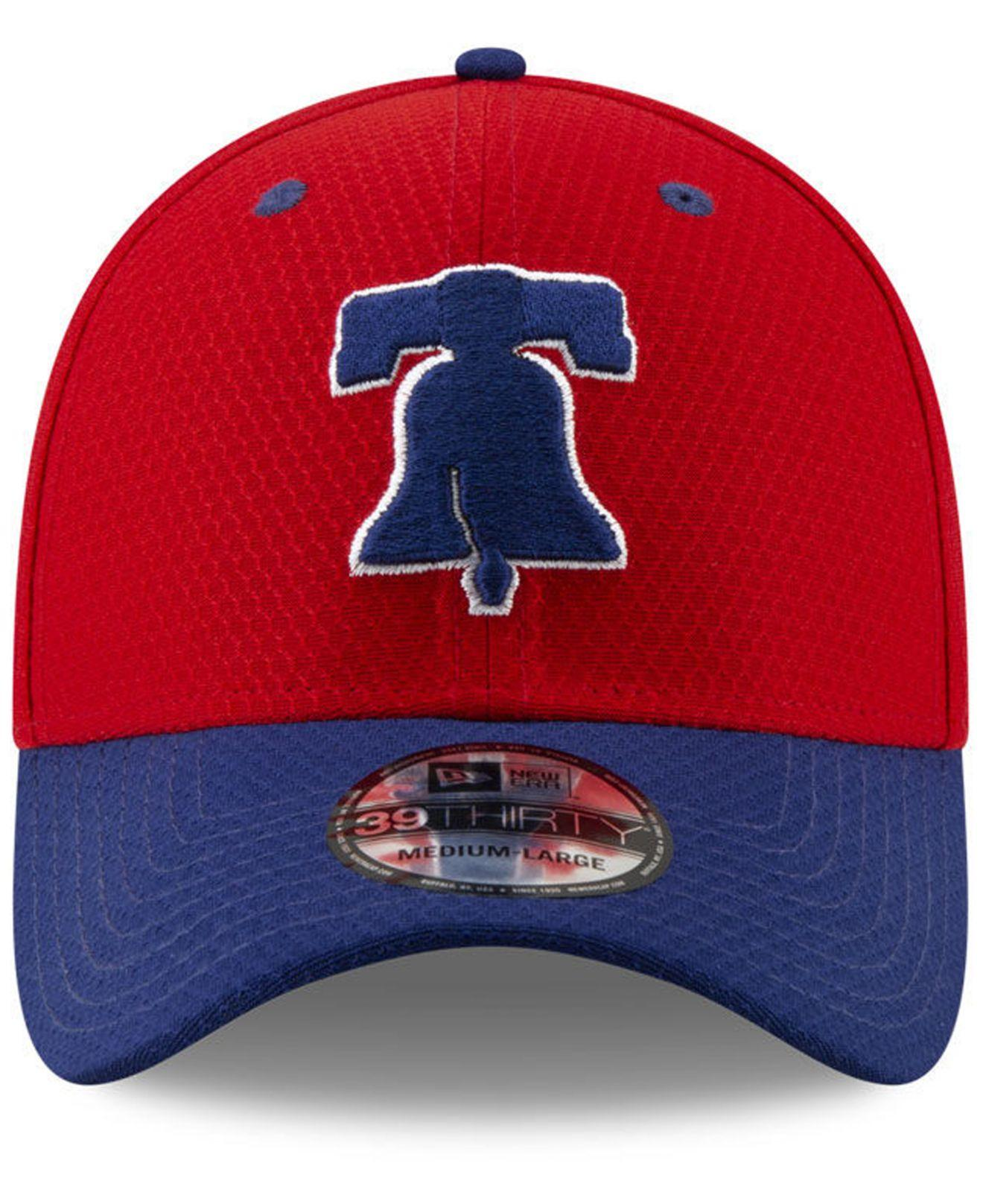 Lyst - KTZ Philadelphia Phillies Batting Practice 39thirty Cap in Red for  Men 6839af35b1d