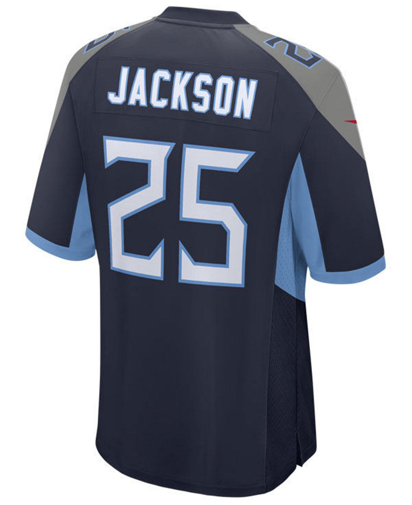75054d2af Lyst - Nike Adoree  Jackson Tennessee Titans Game Jersey in Blue for Men