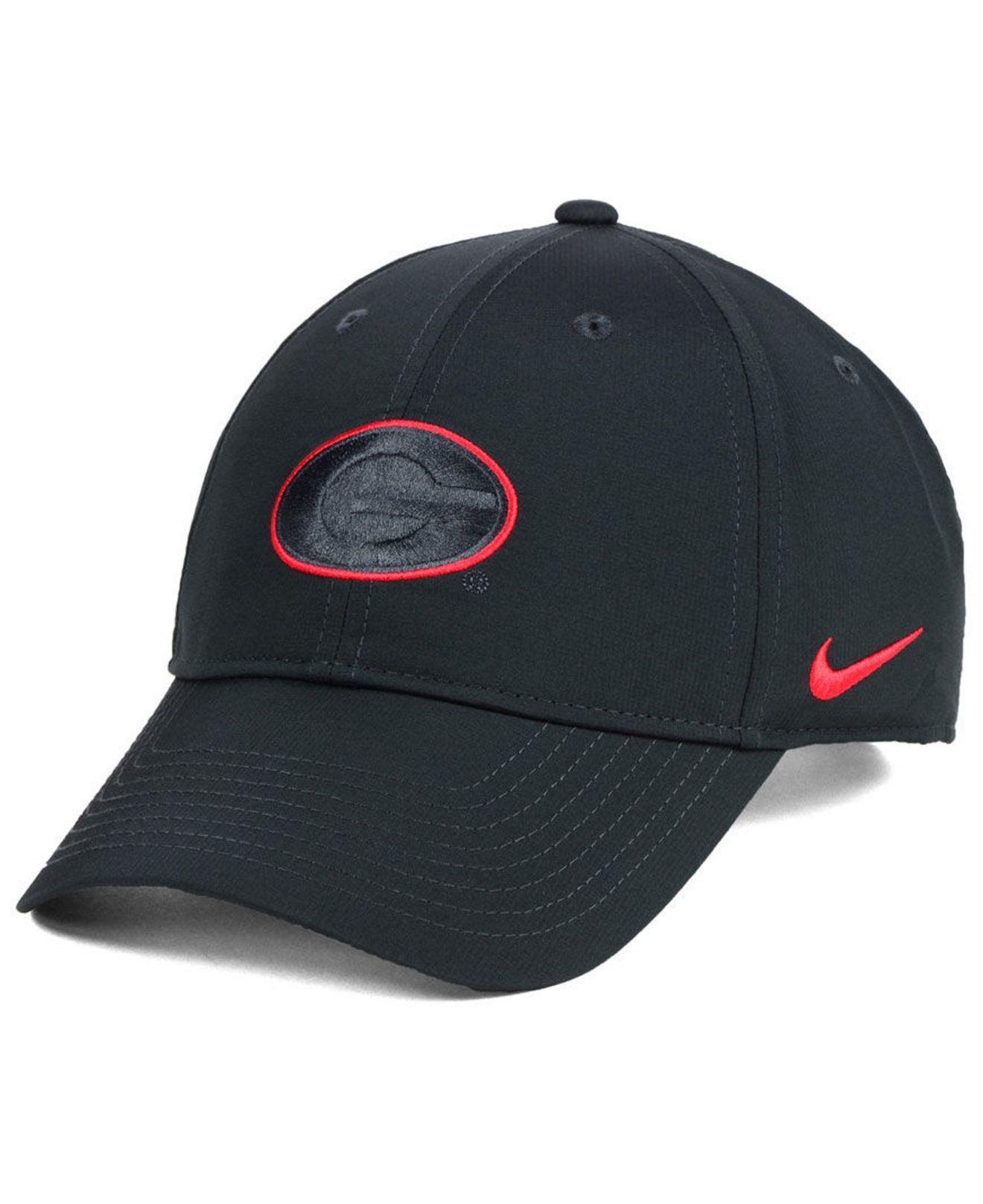 Lyst - Nike Georgia Bulldogs Dri-fit Adjustable Cap in Blue for Men 01c4e4dcabf