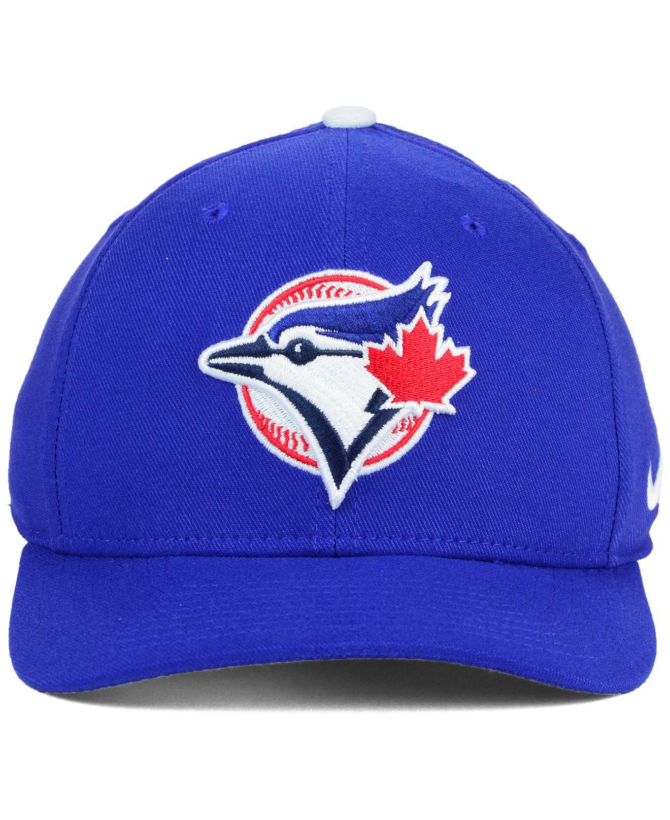 fab5b0284fc Lyst - Nike Toronto Blue Jays Classic Swooshflex Cap in Blue for Men