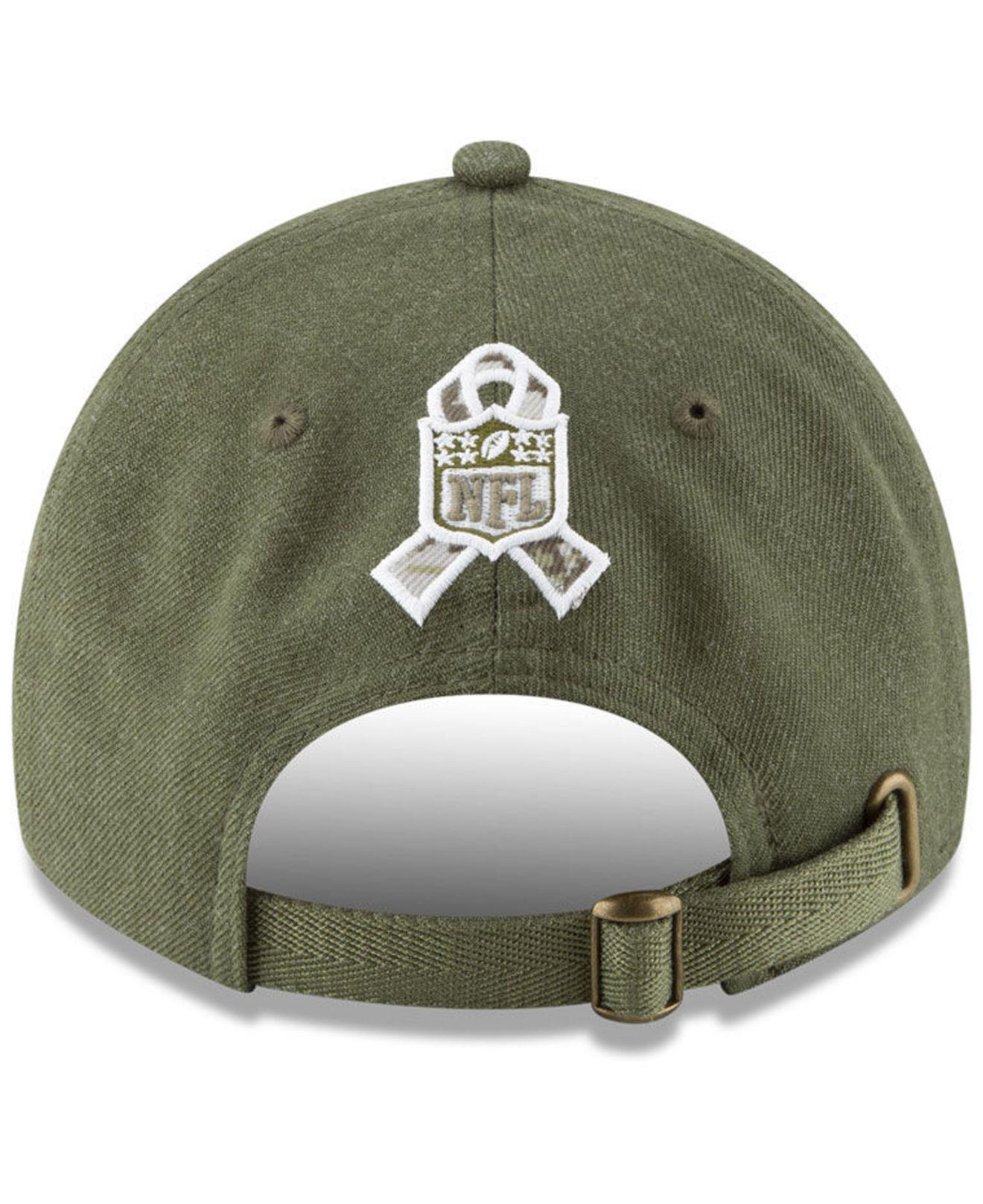32196184d6d low cost new england patriots salute to service 9twenty cap for men lyst.  view fullscreen