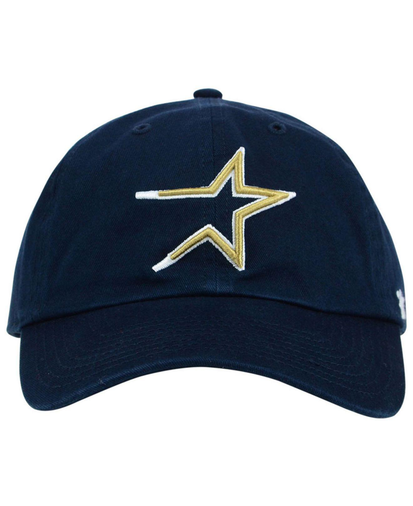5180d769b Lyst - 47 Brand Houston Astros Core Clean Up Cap in Blue for Men