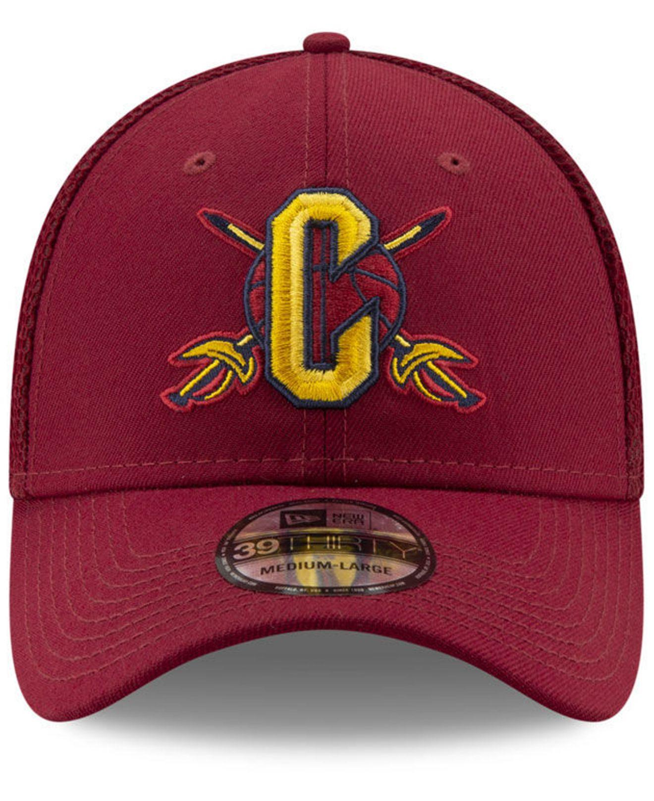 new arrivals ee30e a63e3 Lyst - KTZ Cleveland Cavaliers Back Half 39thirty Cap in Red for Men