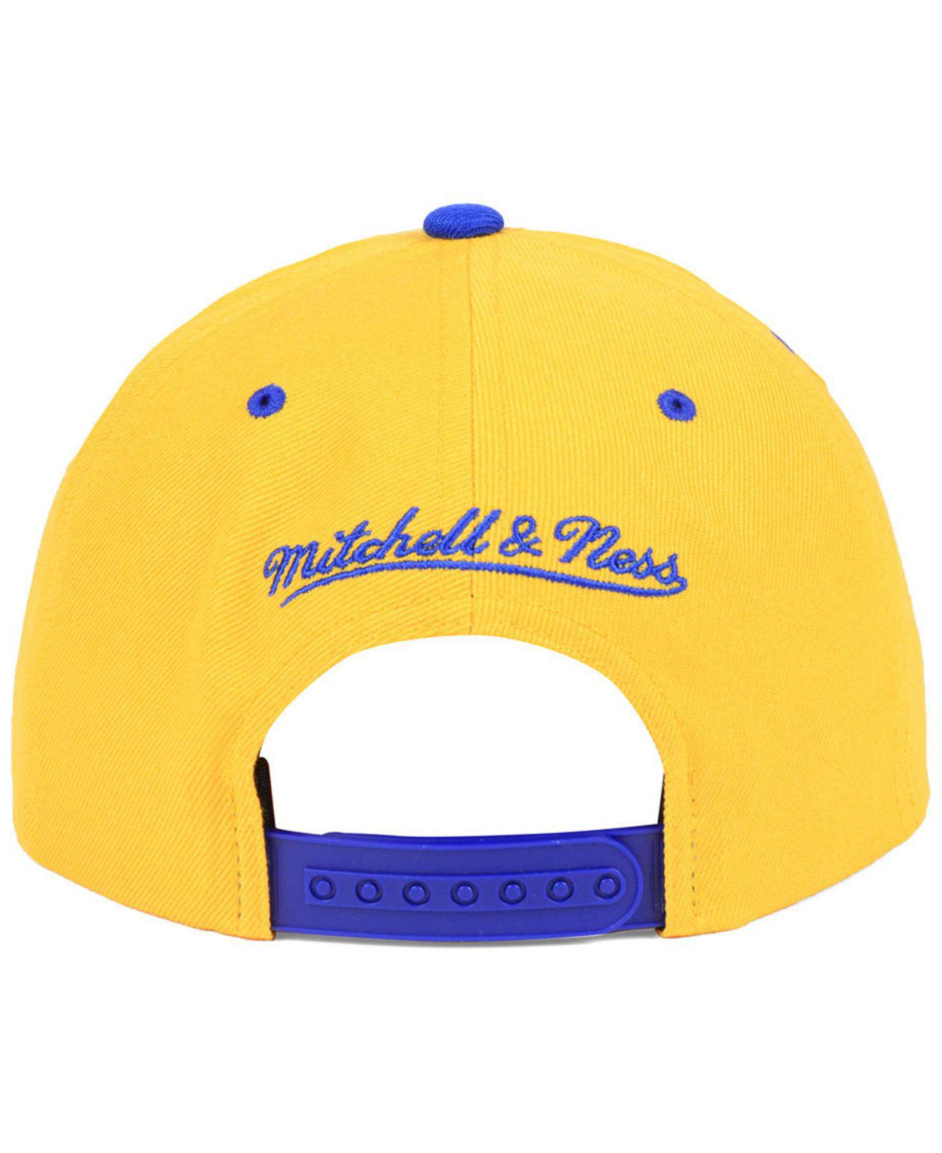 1bf20819cc53cb ... cheapest lyst mitchell ness golden state warriors dripped snapback cap  12313 8ef88
