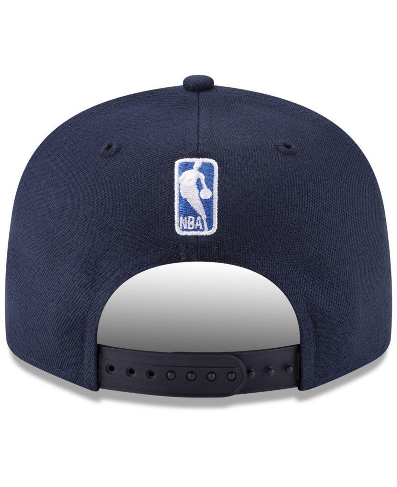 size 40 34d85 cc409 ... canada lyst ktz oklahoma city thunder destroyer 9fifty snapback cap in  blue for men f7fc6 6e676