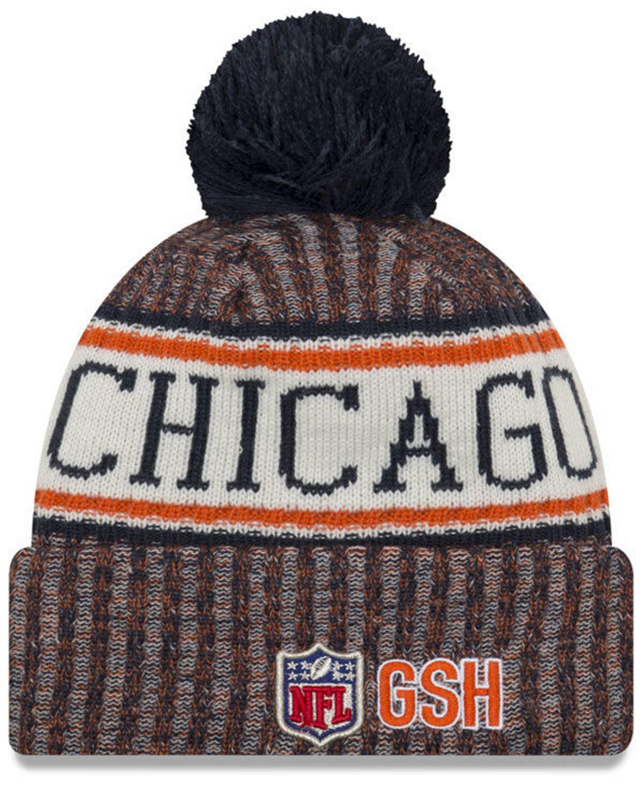 aef4c7da33e Lyst - Ktz Chicago Bears Sport Knit Hat in Blue for Men
