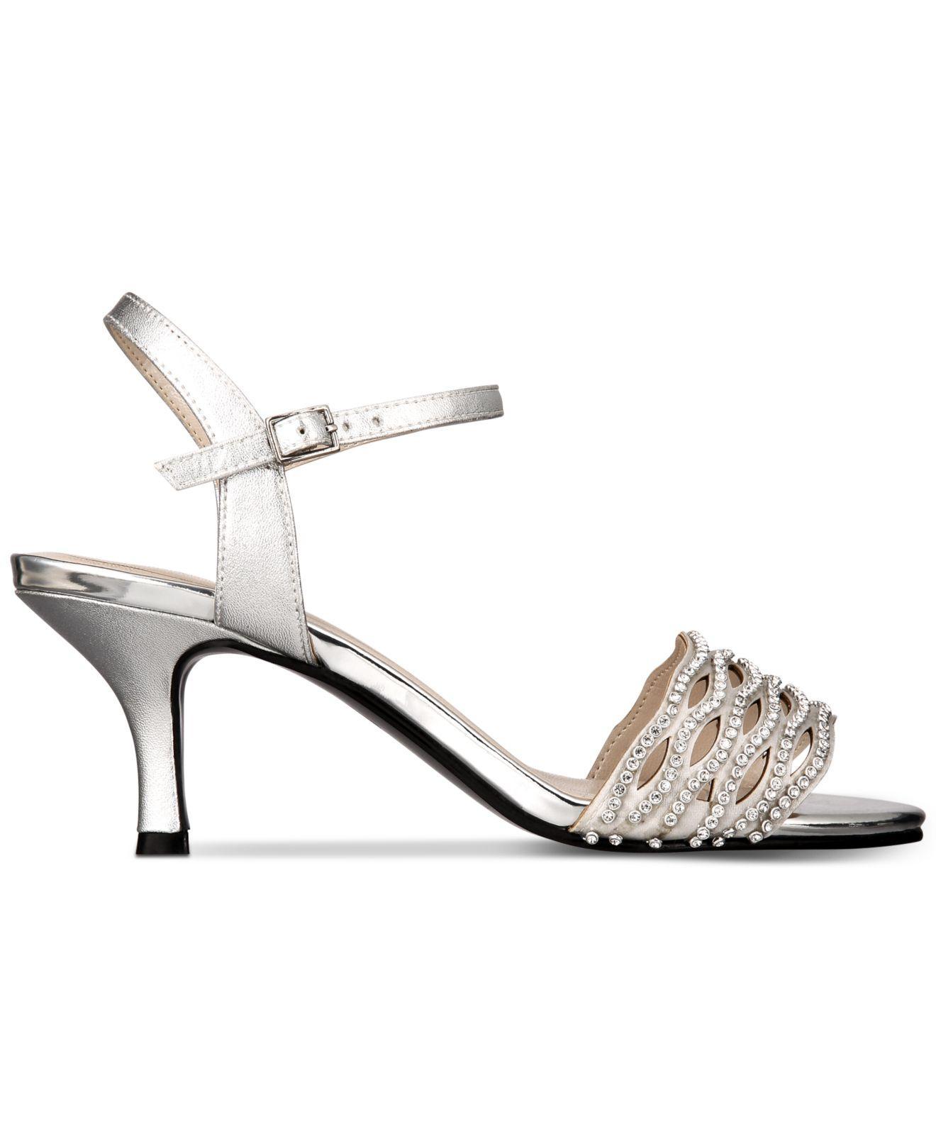 1fb781a19a56 Lyst - Caparros Quirin Dress Sandals in Metallic