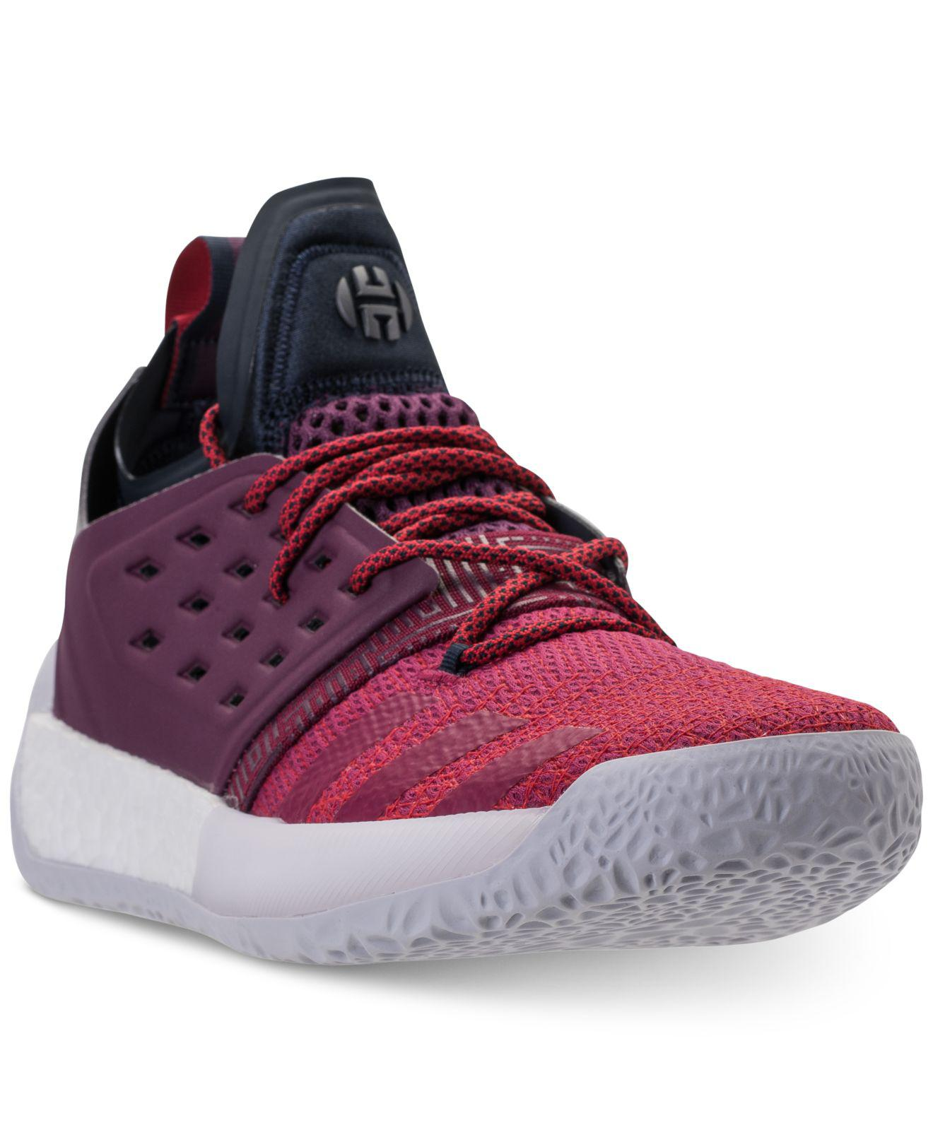 9c68a711ecb7 adidas Harden Vol.2 Basketball Sneakers From Finish Line in Purple ...