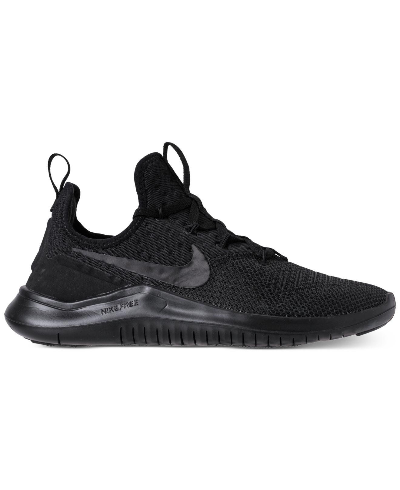 e0bcb0b07643 Lyst - Nike Free Tr 8 Training Sneakers From Finish Line in Black