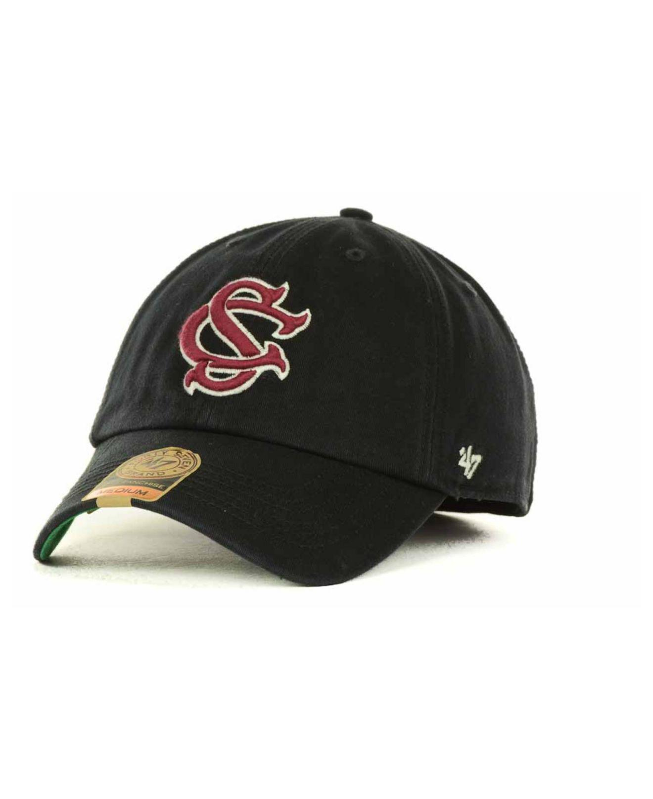 finest selection 96a5e 3d77c 47 Brand. Men s Black South Carolina Gamecocks Franchise Cap