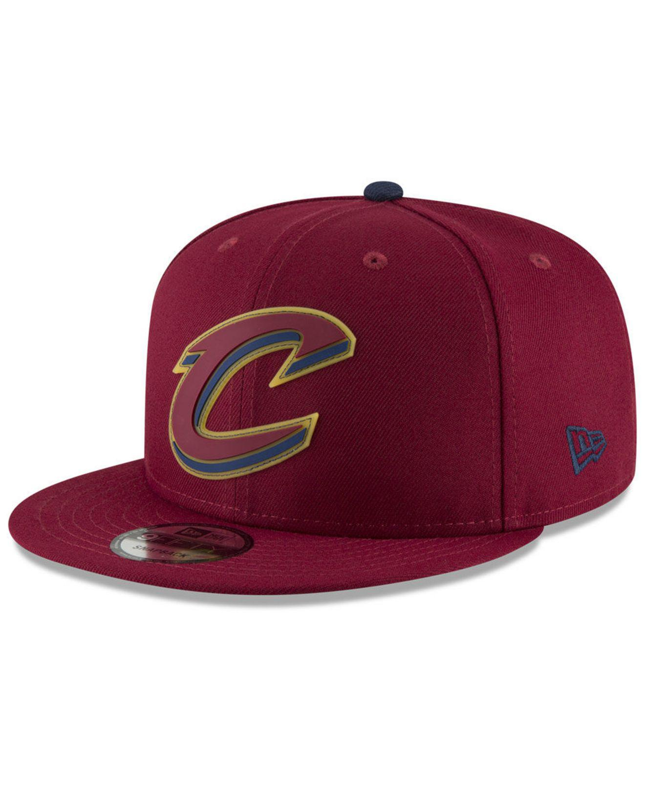 low cost 4c615 cc207 KTZ. Men s Cleveland Cavaliers Team Cleared 9fifty Snapback Cap
