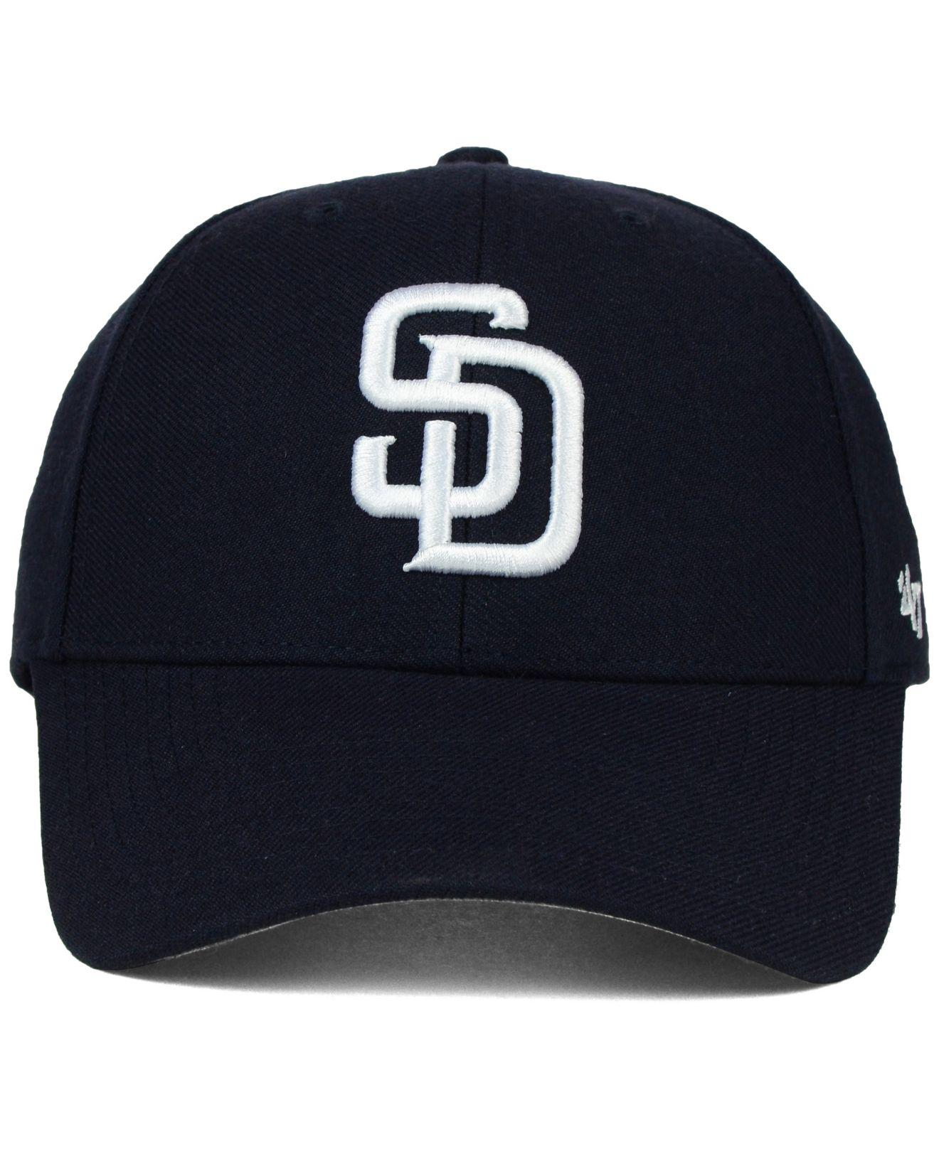 ded97866f8910 Lyst - 47 Brand San Diego Padres Mlb On Field Replica Mvp Cap in Blue for  Men