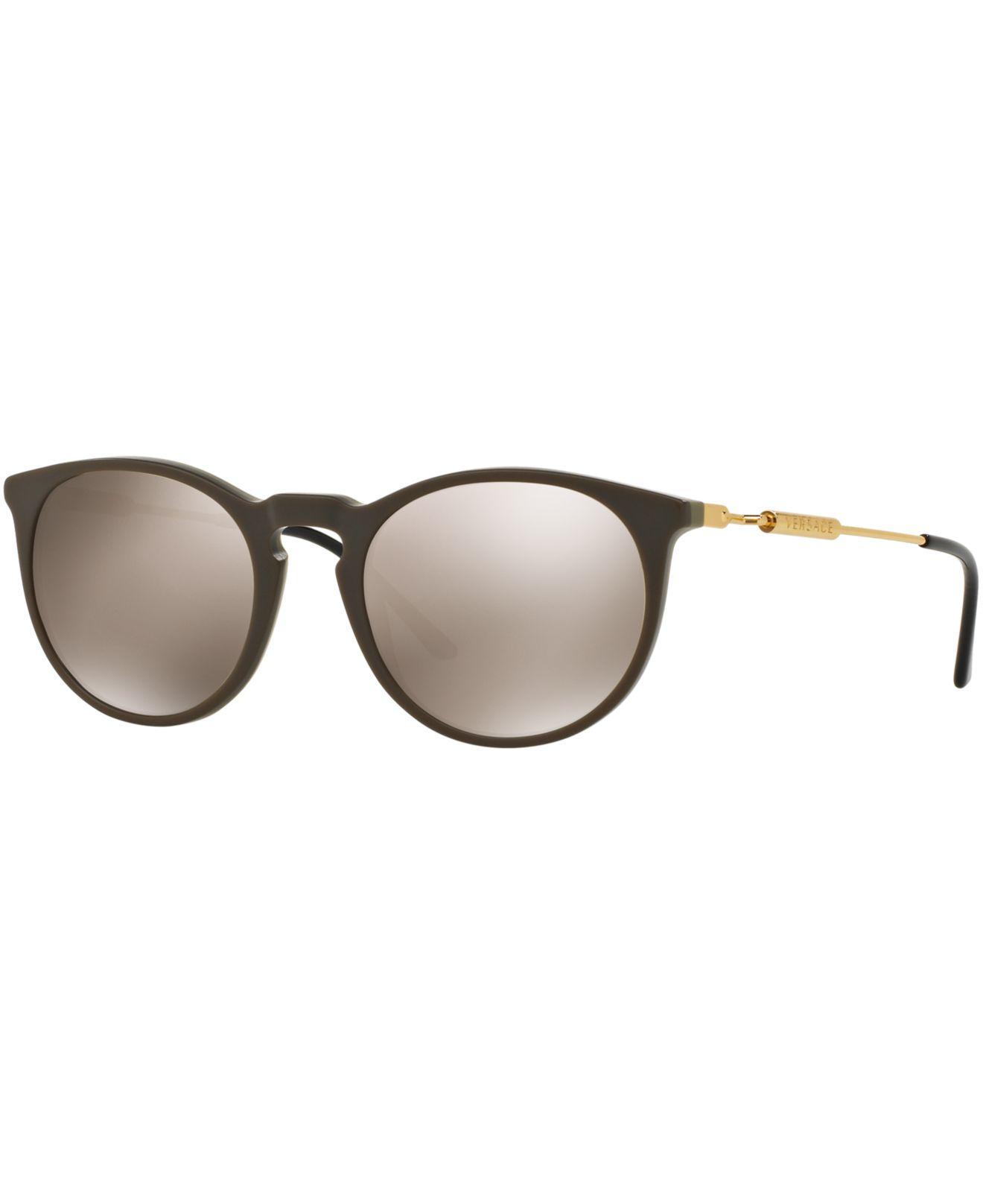 004e56cdaa12 Versace. Women s Brown Sunglasses ...