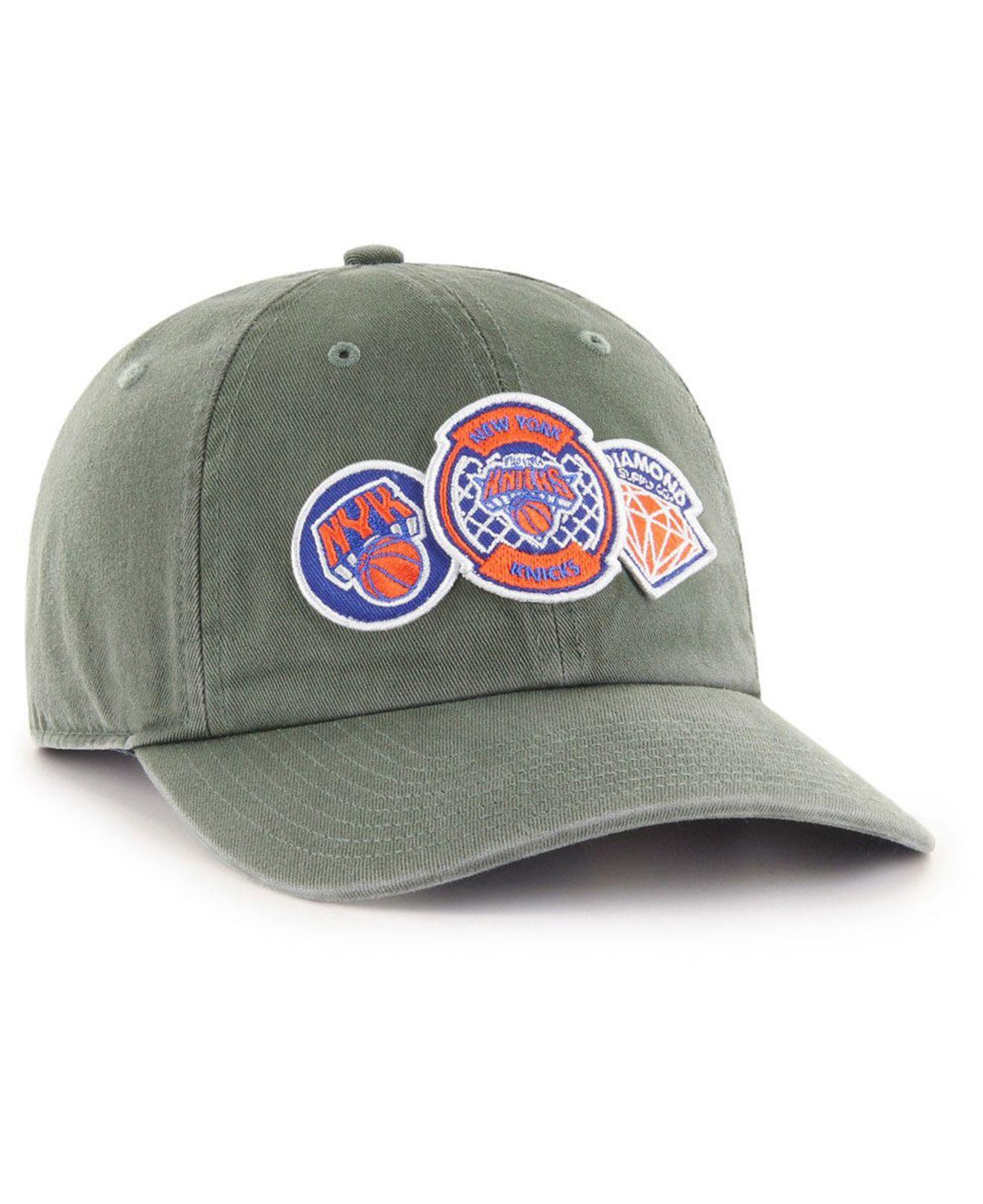 0a0f0ad1d5e125 47 Brand - Multicolor New York Knicks Diamond Patch Clean Up Mf Cap for Men  -. View fullscreen