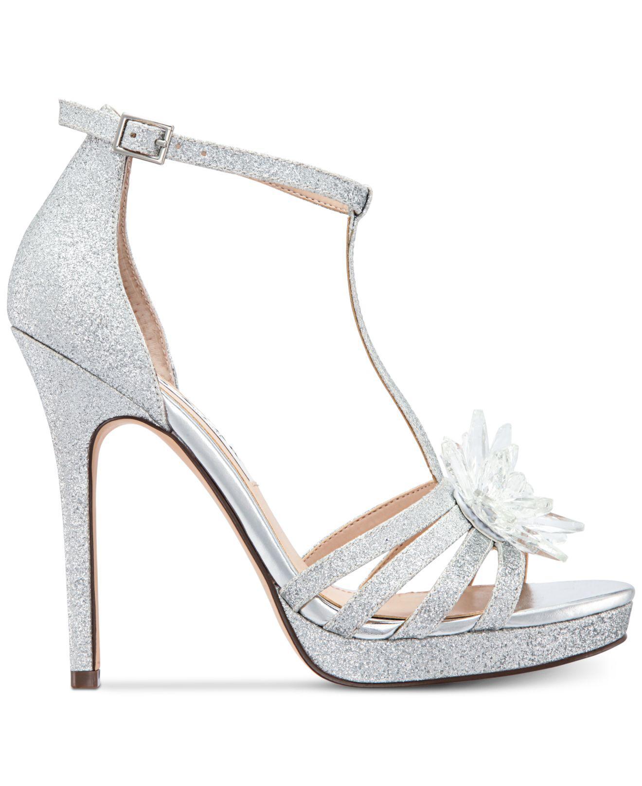 e3168178d40 Lyst - Nina Falynne Evening Sandals in Metallic