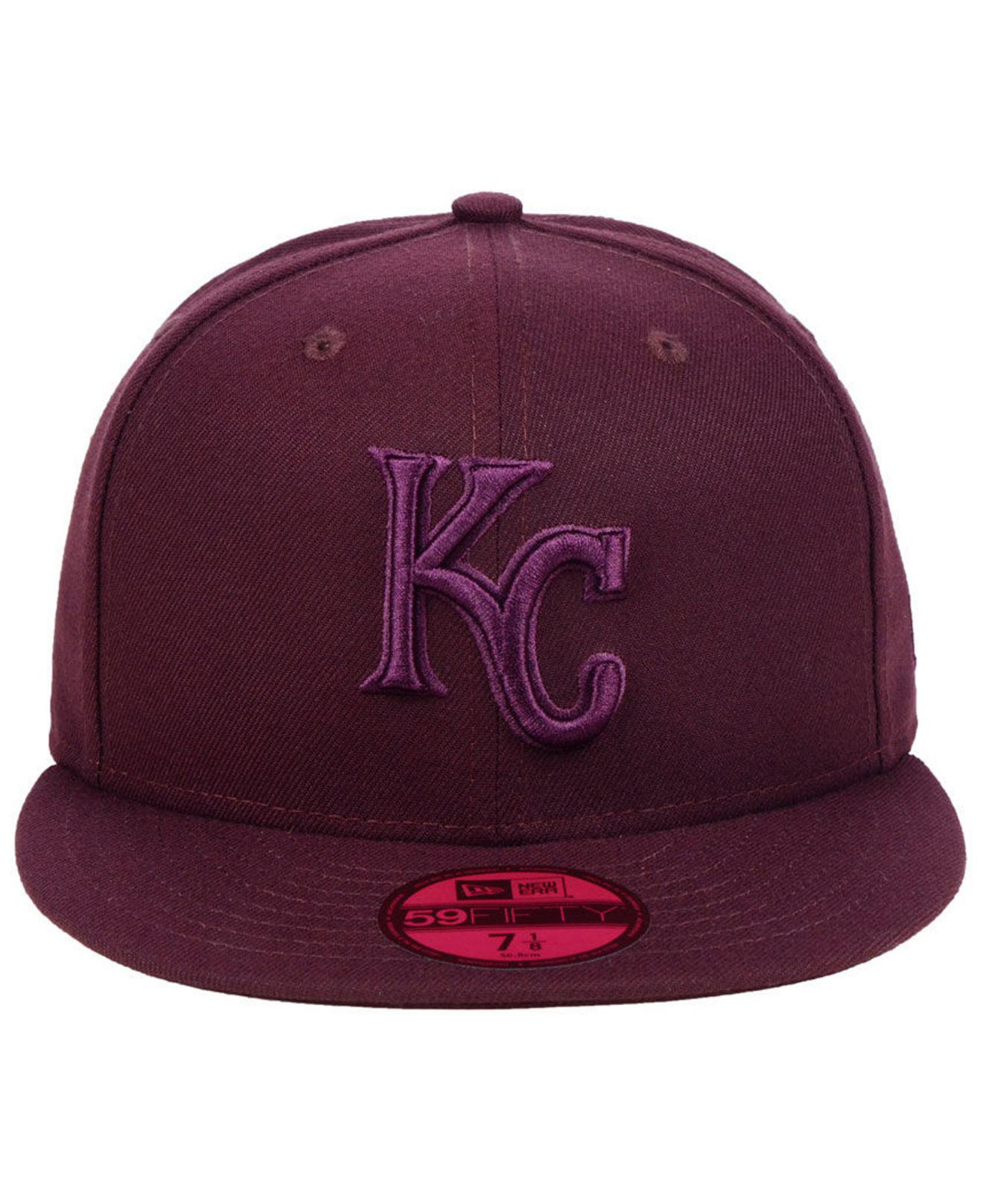 Lyst - Ktz Kansas City Royals Fall Prism Pack 59fifty-fitted Cap in Purple  for Men 4f33cf6e92fe