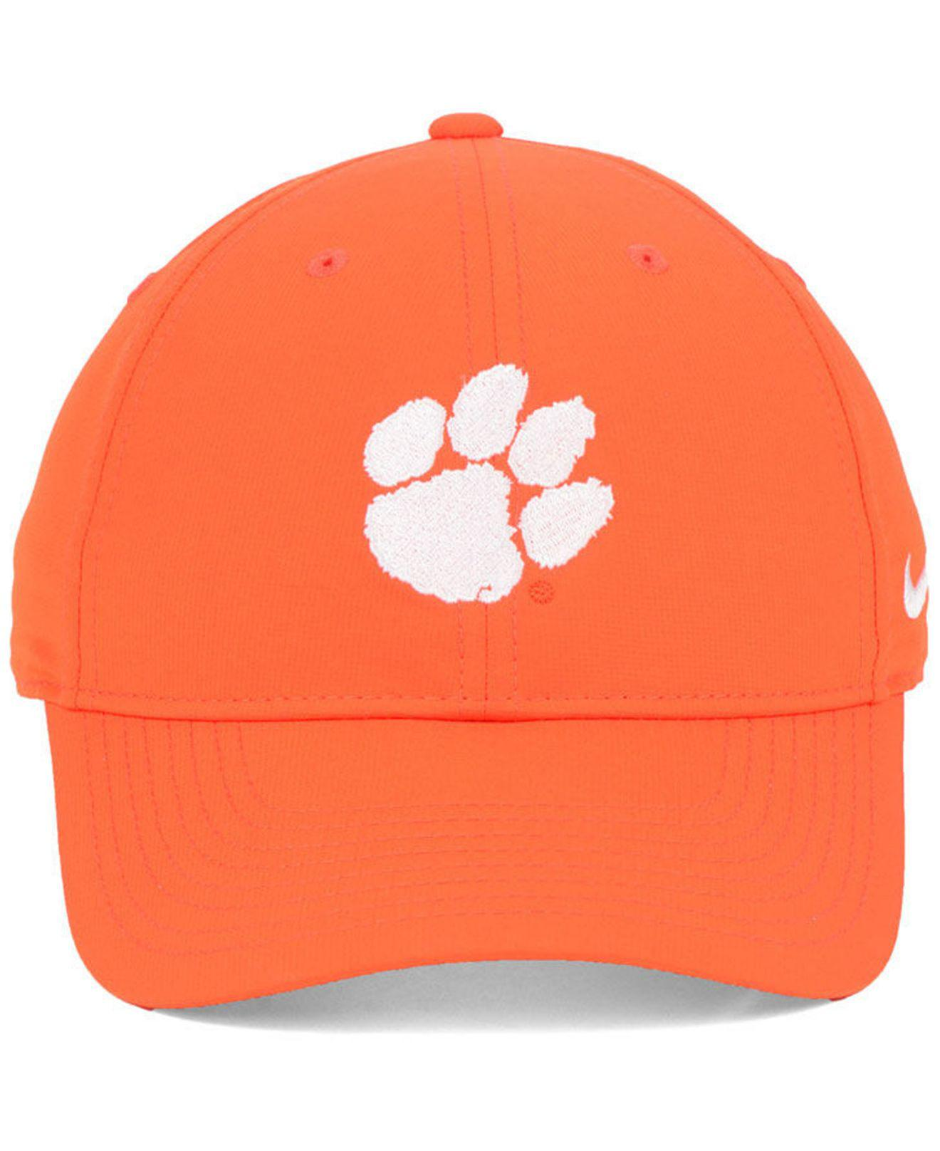 quality design e0e5e ef4d6 Lyst - Nike Clemson Tigers Dri-fit Adjustable Cap in Orange for Men