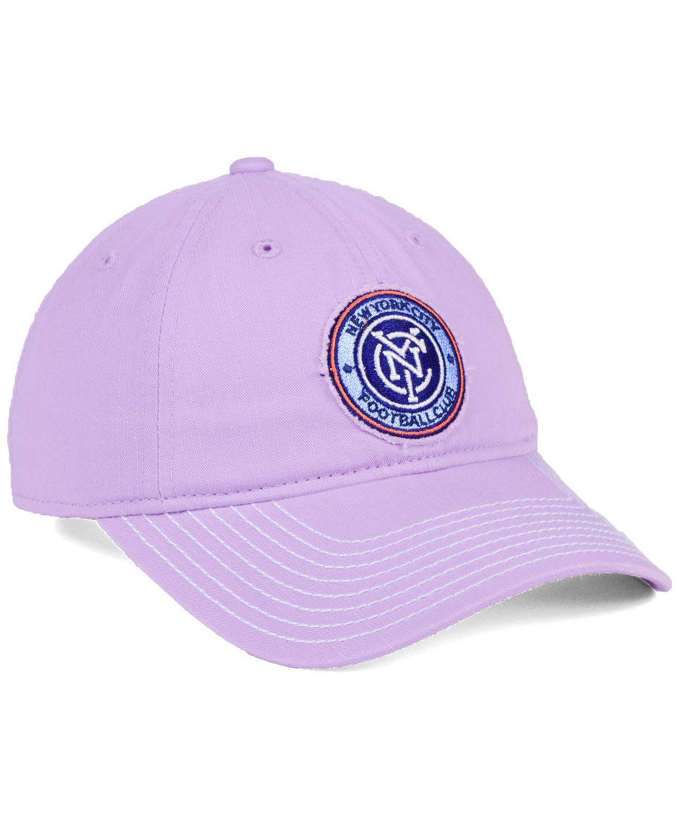 194c4d8881a4c coupon adidas purple new york city fc pink slouch cap lyst. view fullscreen  489e8 496b1