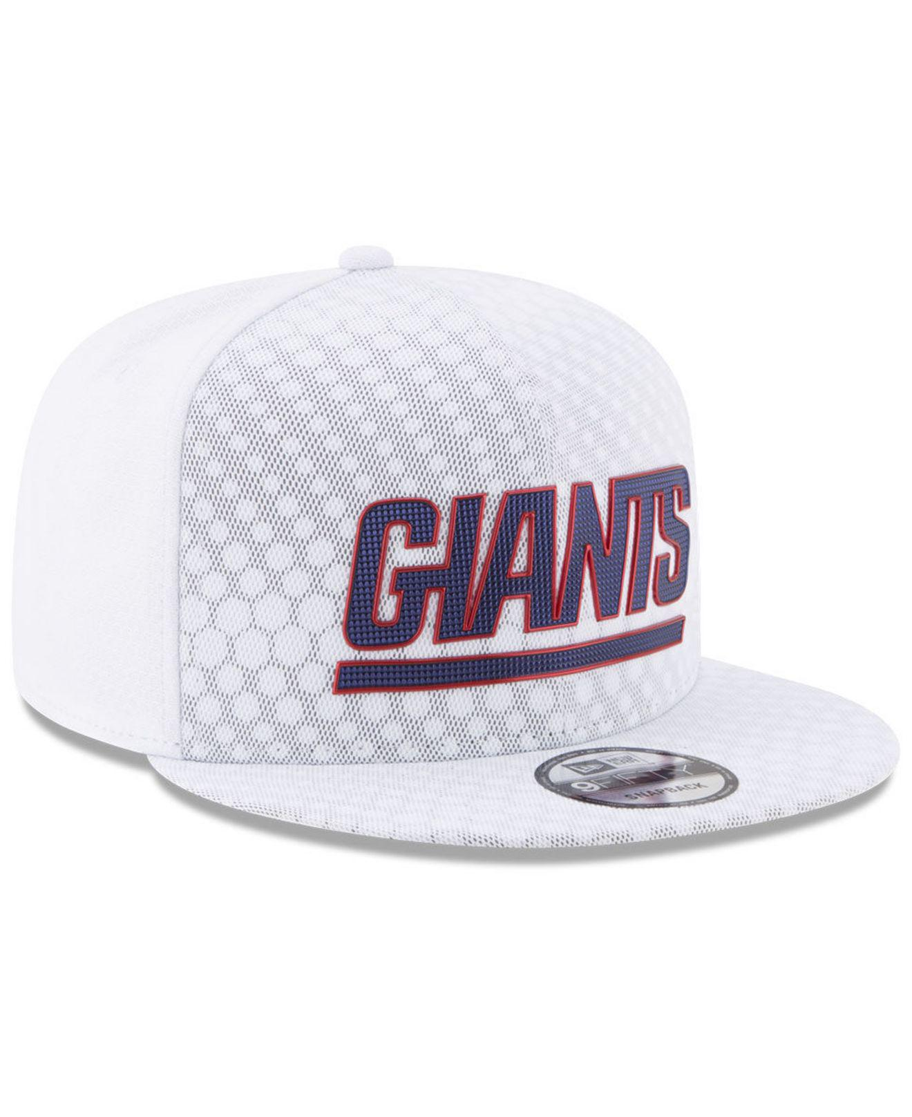 c3cc0794401 Lyst - KTZ New York Giants On Field Color Rush 9fifty Snapback Cap ...