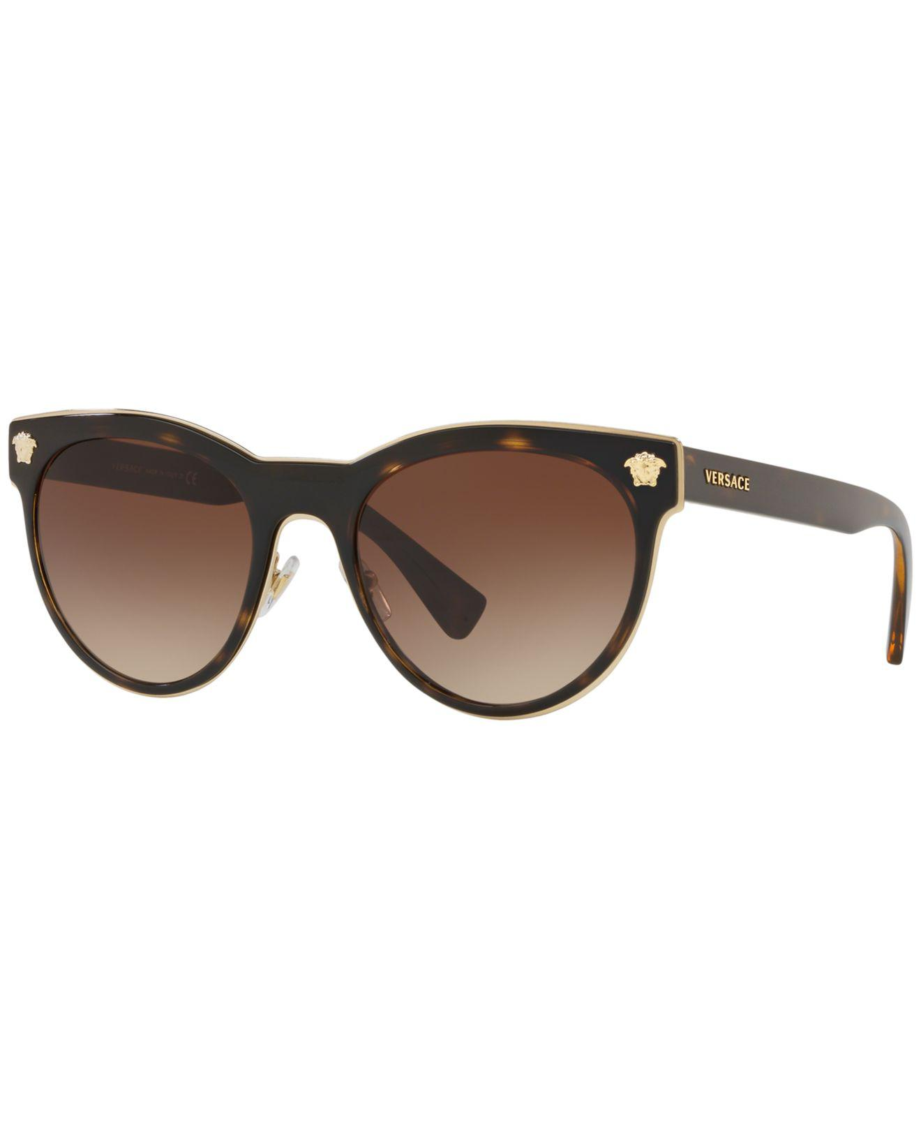 85ad027b2610 Versace - Brown Sunglasses
