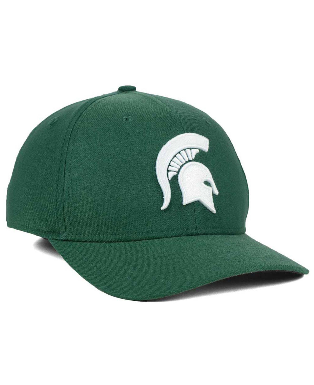 half off 58c97 8657b ... Michigan State Spartans Classic Swoosh Cap for Men - Lyst. View  fullscreen