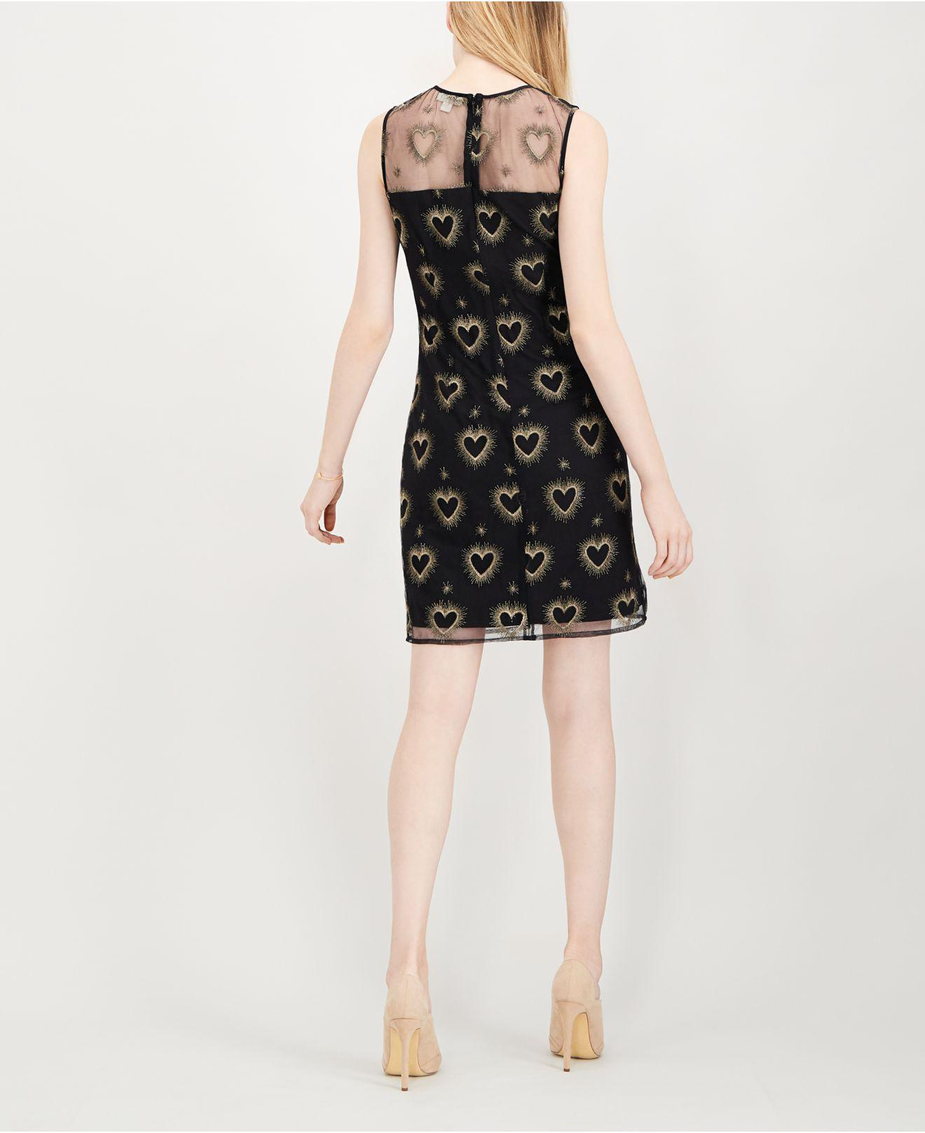 c599a7a1d00c Lyst - Maison Jules Embroidered Illusion Dress