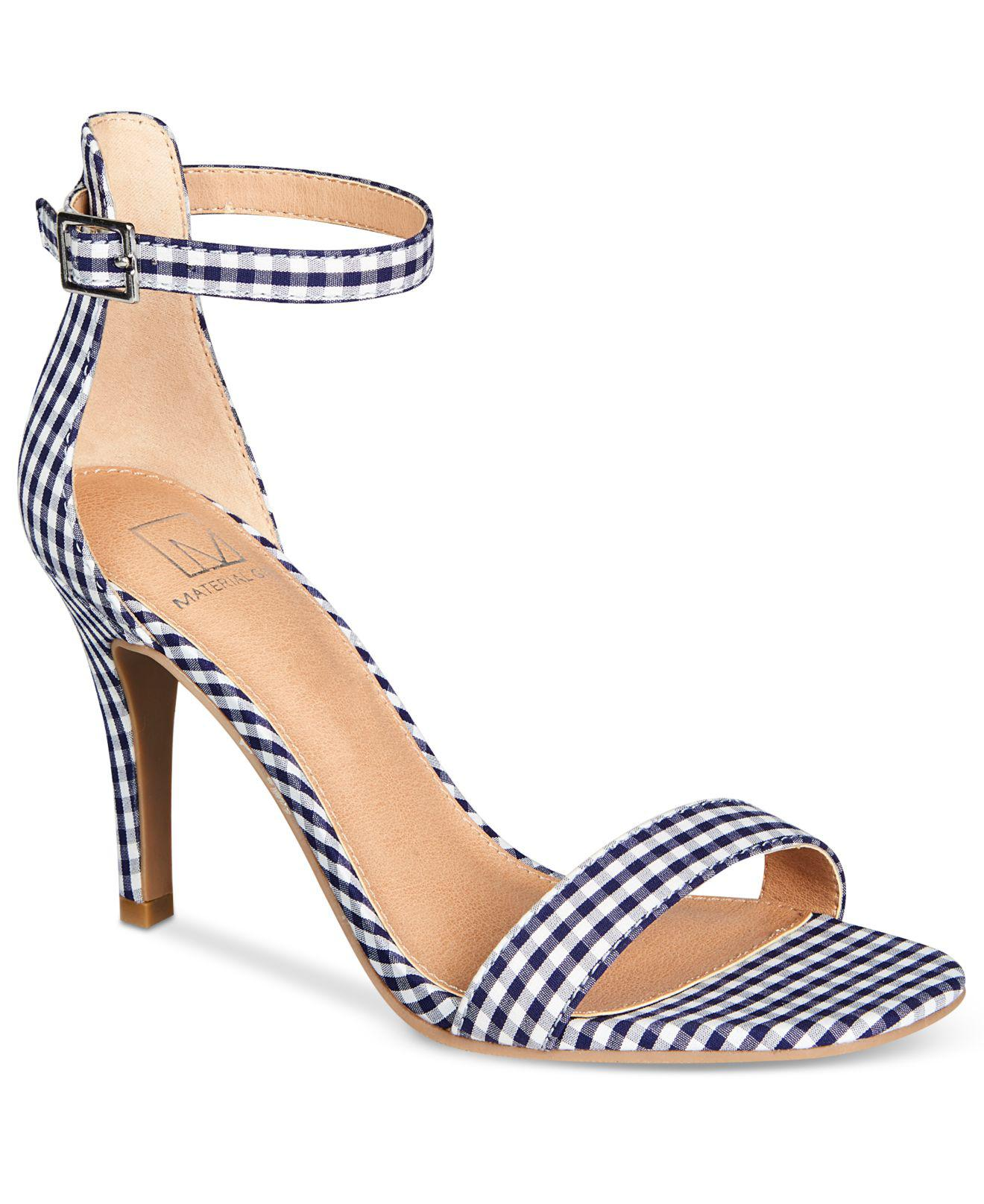 ac0b959dee2 Lyst - Material Girl Blaire Two-piece Dress Sandals