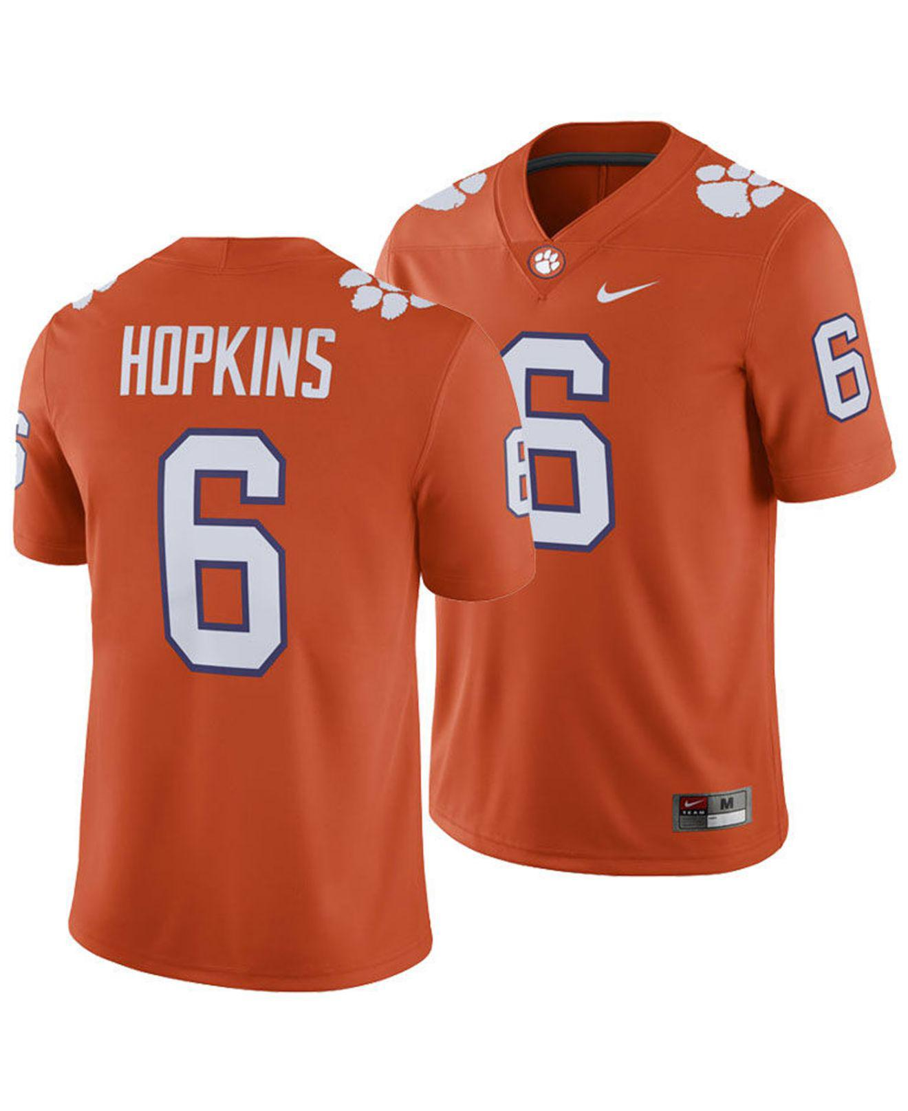 Lyst - Nike Deandre Hopkins Clemson Tigers Player Game Jersey in ... a02ffa0ff