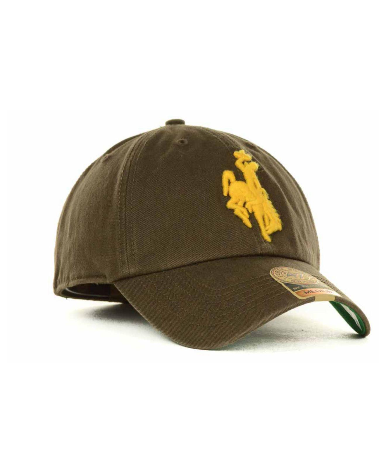 3a8be80cdc1 ... Wyoming Cowboys Franchise Cap for Men - Lyst. View fullscreen