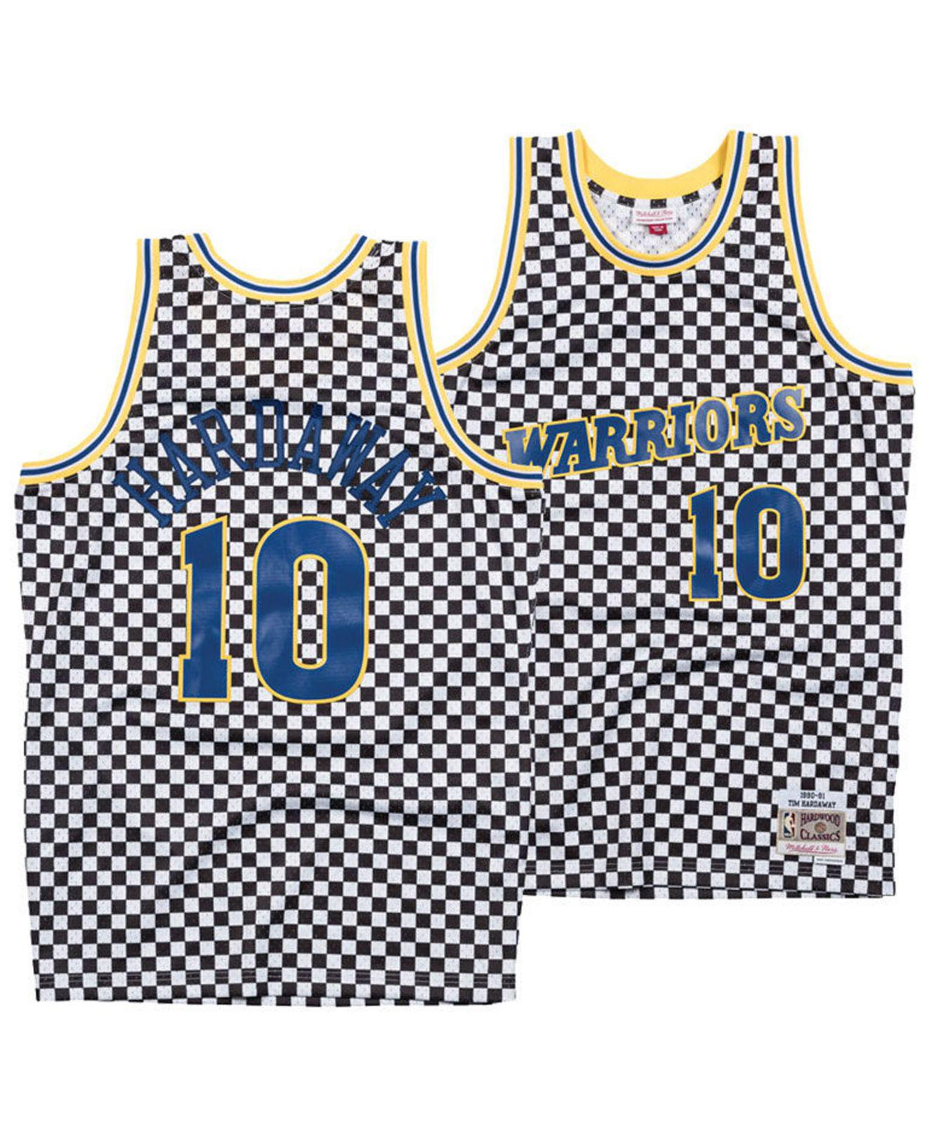 Lyst - Mitchell   Ness Tim Hardaway Golden State Warriors ... 4399ed297