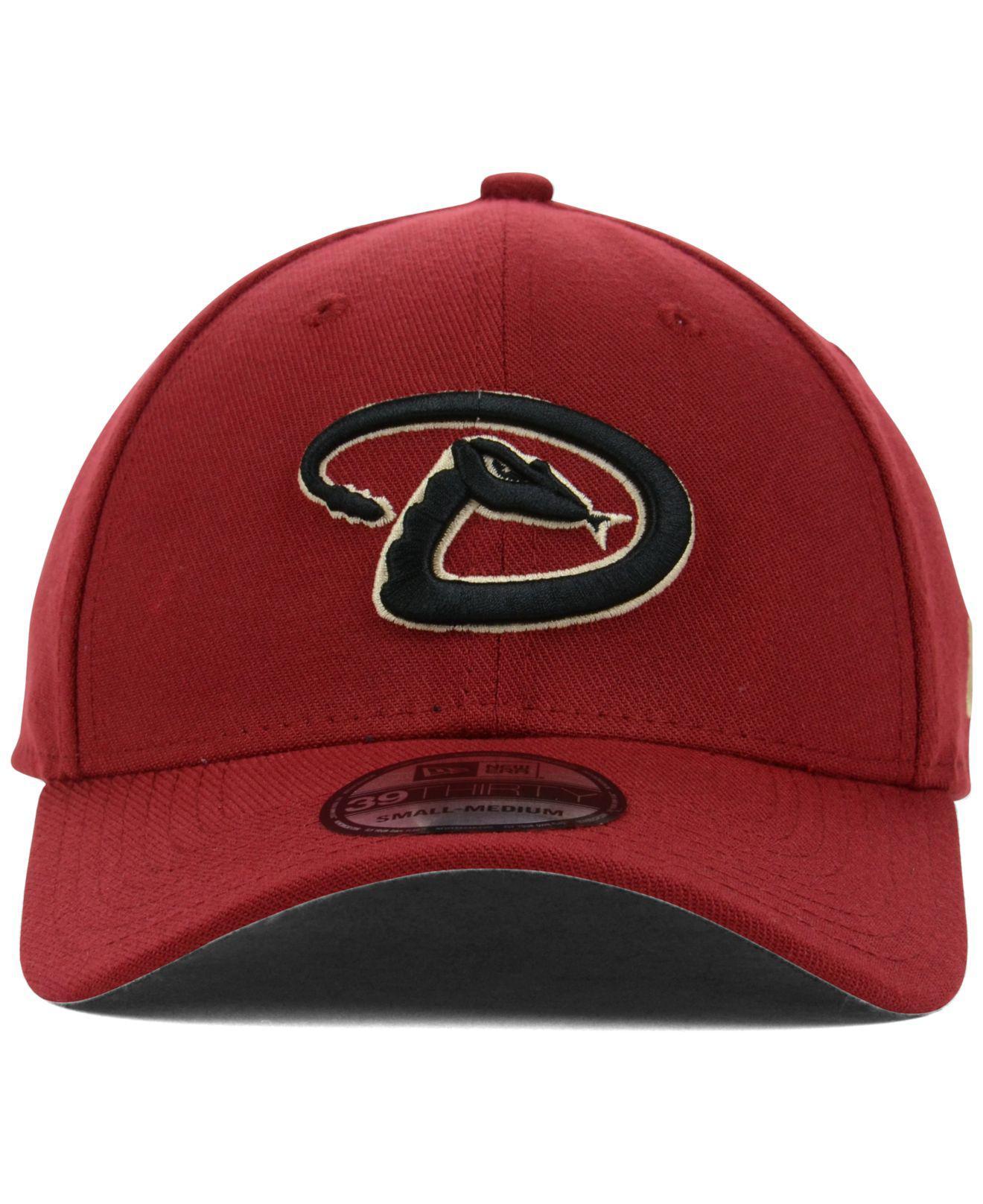 cheap for discount 29d27 79a55 Lyst - KTZ Arizona Diamondbacks Mlb Team Classic 39thirty Cap in Red for Men