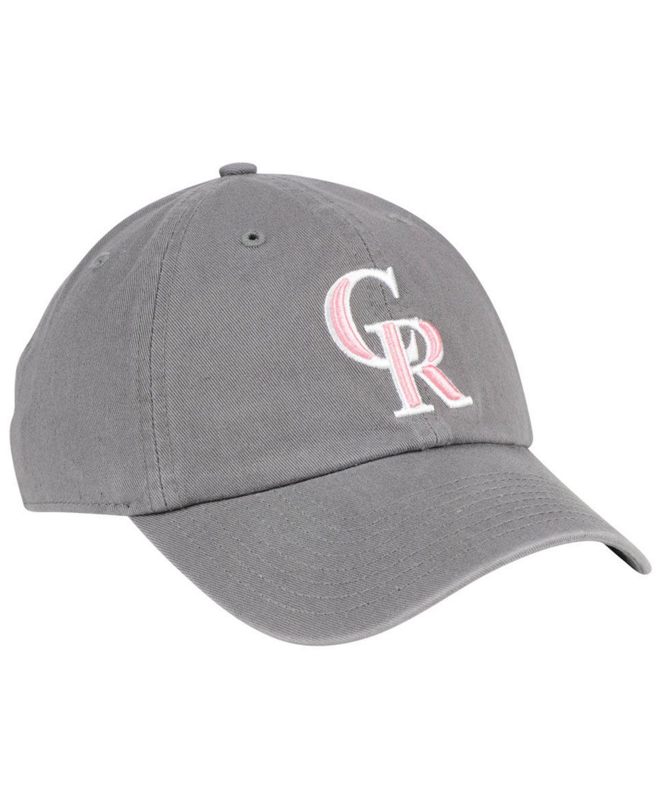 check out 7e5d9 6c823 ... white 47 clean up cap f90d5 47e6f  official detroit tigers 47 mlb dark  gray pink 47 brand colorado rockies dark gray pink clean