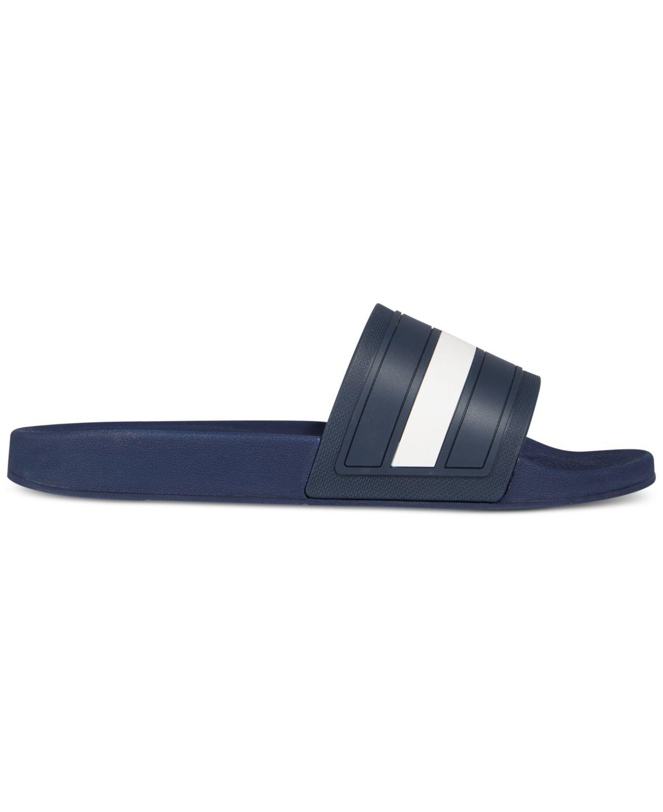 da5836fe619e4 Lyst - Tommy Hilfiger Men s Elwood Slide Sandals in Blue for Men