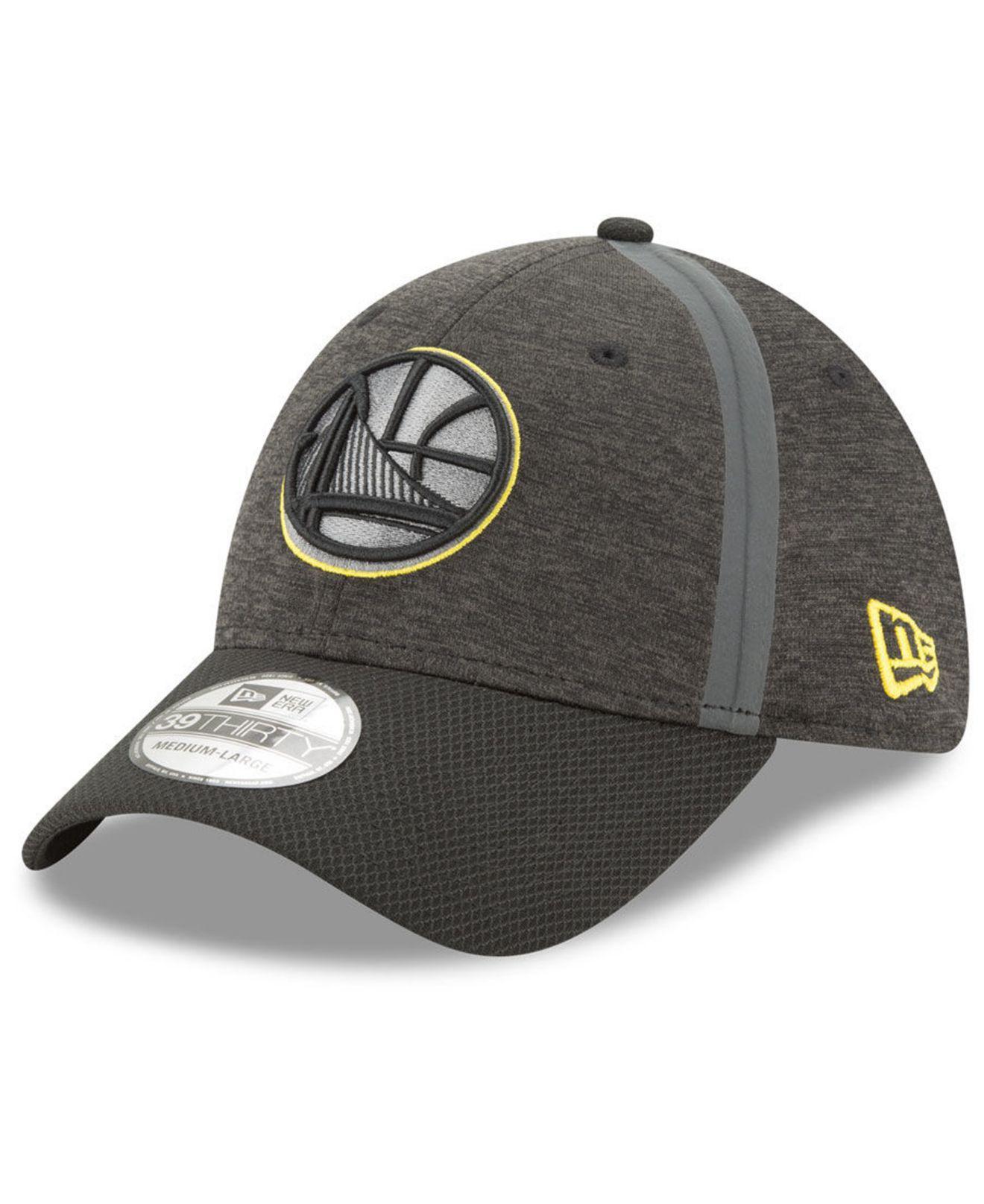buy popular 55e6f 9e170 KTZ Golden State Warriors Reflect Tech 39thirty Cap in Black for Men ...