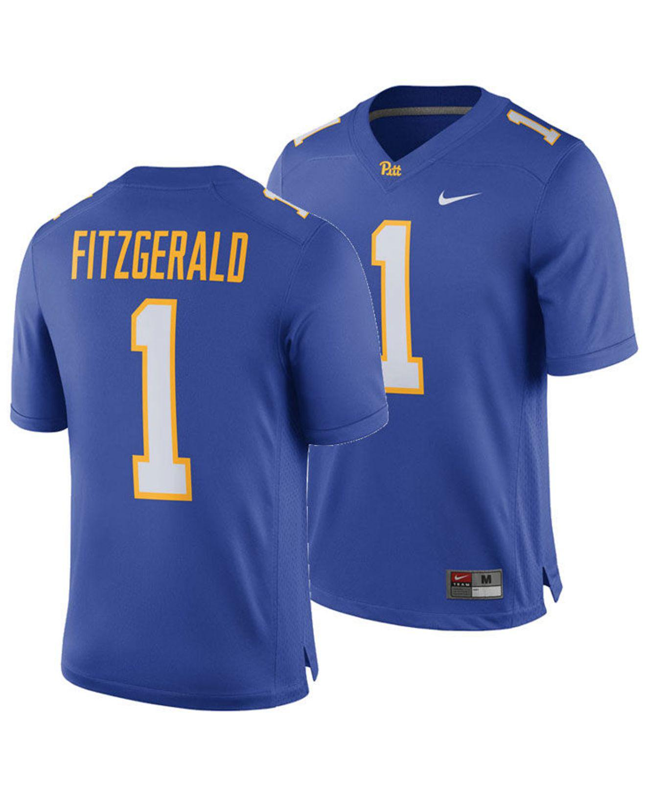 promo code 46ce8 c48d2 Lyst - Nike Larry Fitzgerald Pittsburgh Panthers Player Game ...