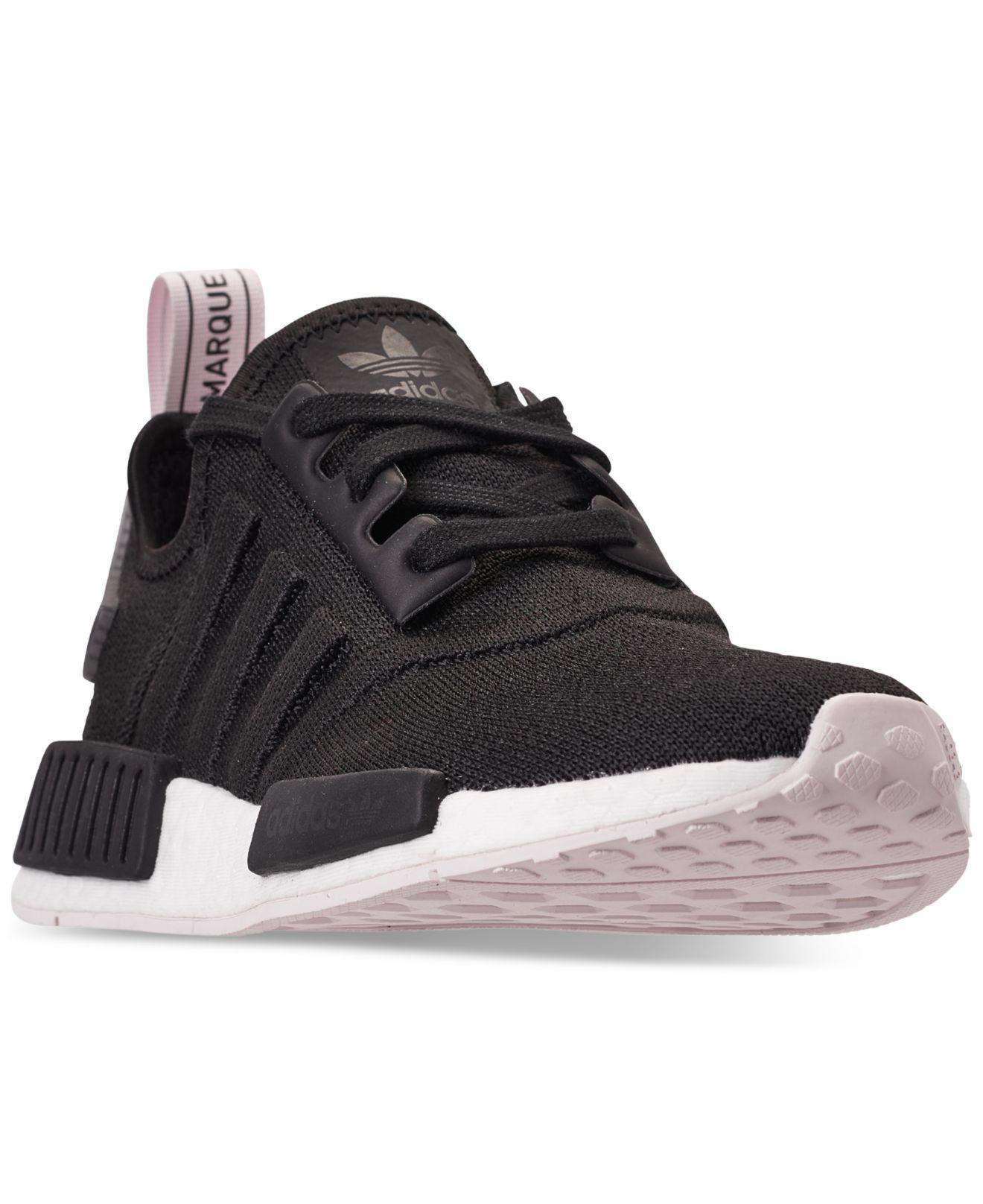 54bec287805188 Lyst - adidas Nmd R1 Casual Sneakers From Finish Line in Black