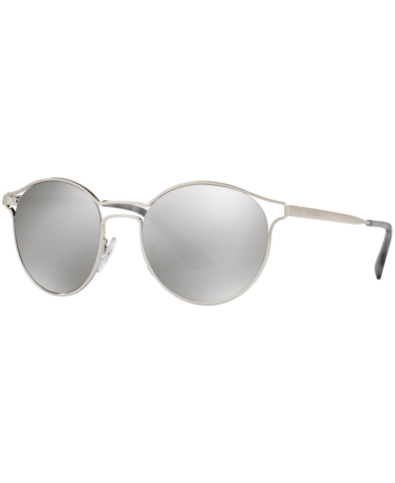 e47d698c88c Prada. Women s Metallic Sunglasses