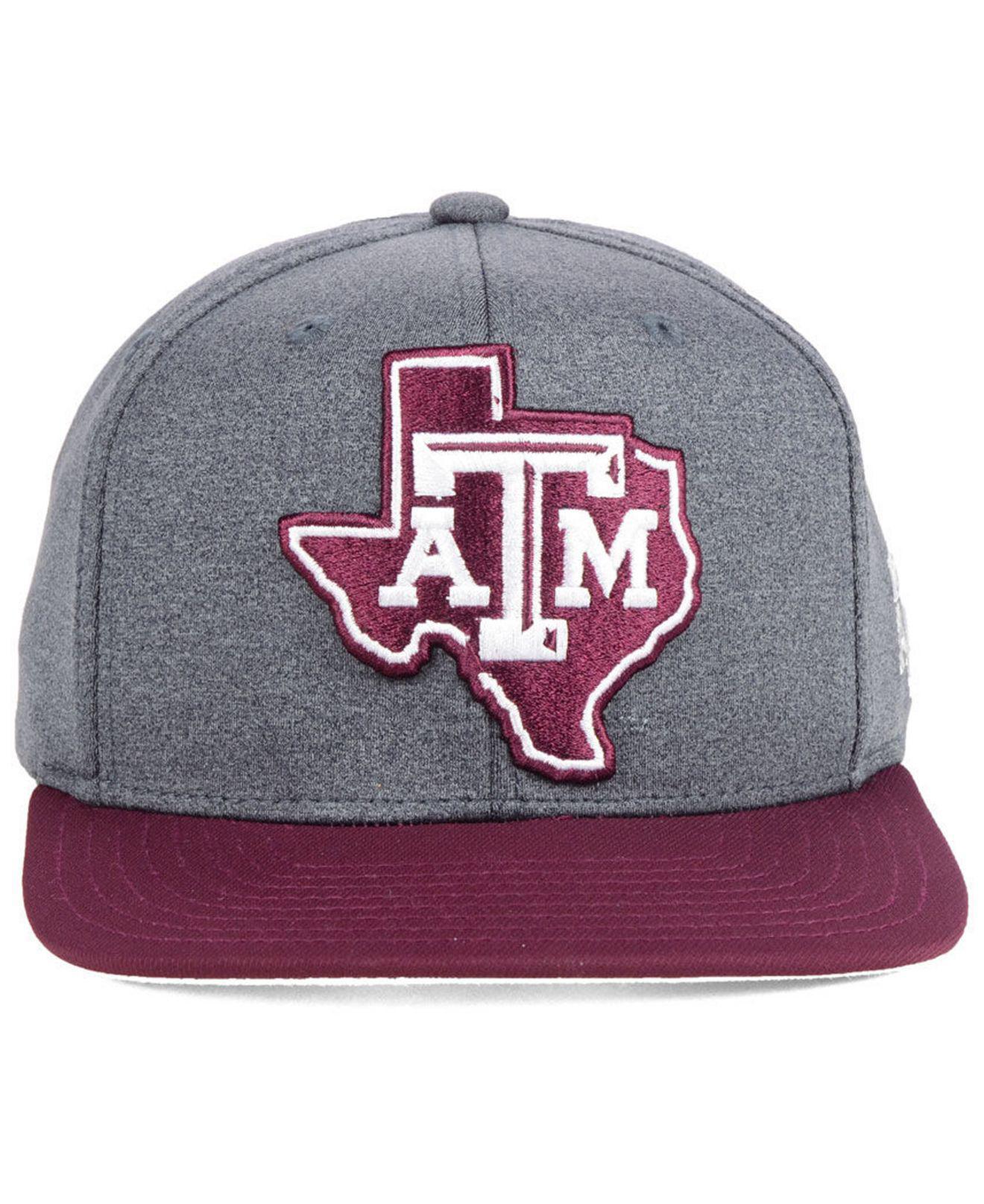 851ea3c7b8d Lyst - adidas Texas A m Aggies Stadium Performance Snapback Cap in Gray for  Men