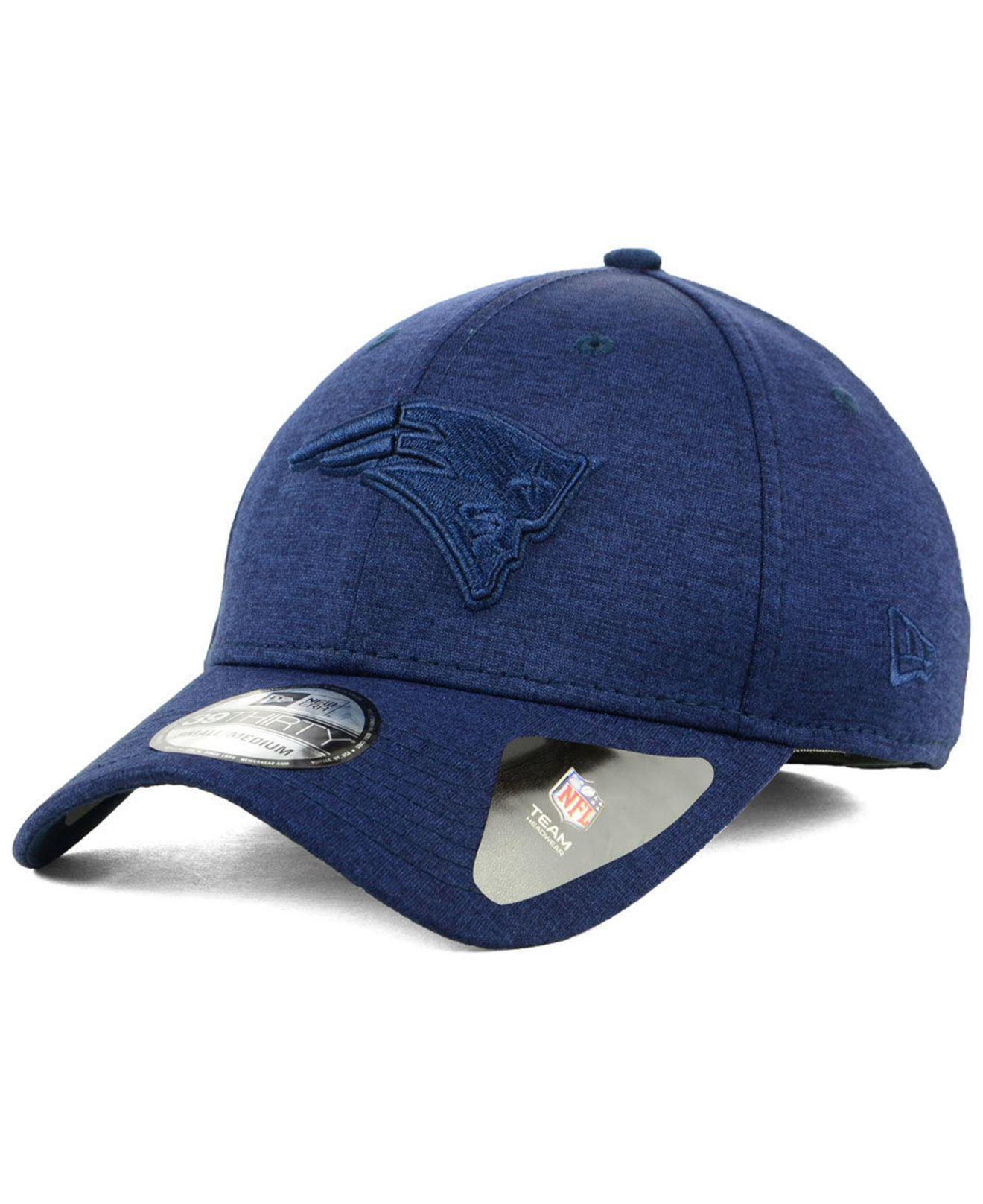Lyst - KTZ New England Patriots Tonal Heat 39thirty Cap in Blue for Men 4665ac979
