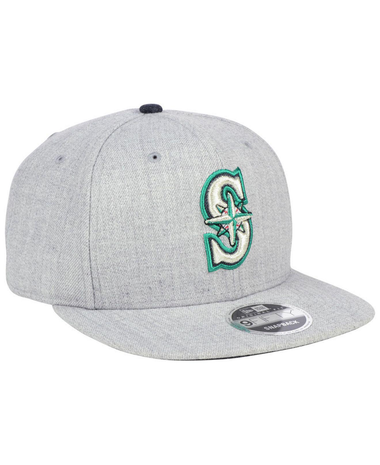 new arrivals 43b98 6bfc4 ... ireland seattle mariners heather hype 9fifty snapback cap for men lyst.  view fullscreen 747fb f36ce