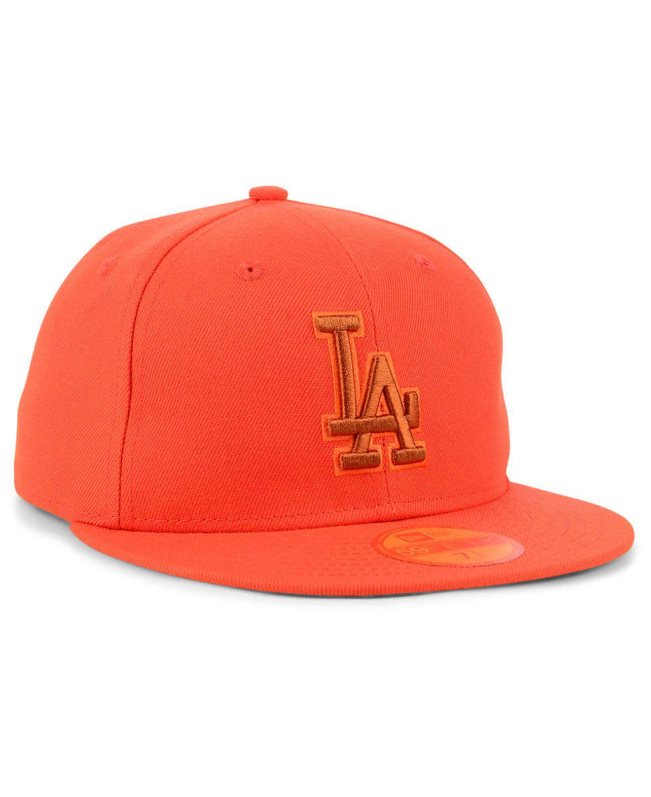 buy popular 66556 e736f ... australia los angeles dodgers prism color pack 59fifty fitted cap for  men lyst. view fullscreen