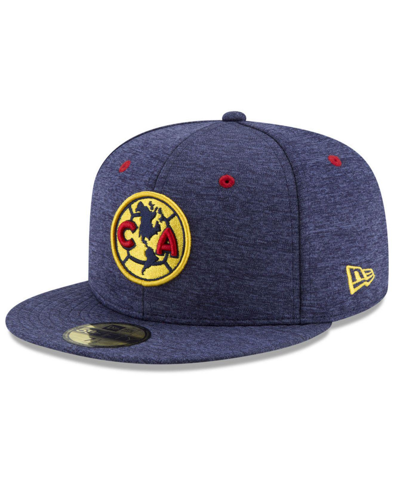 901530bcb481d KTZ Club America Shadow 59fifty Fitted Cap in Blue for Men - Lyst