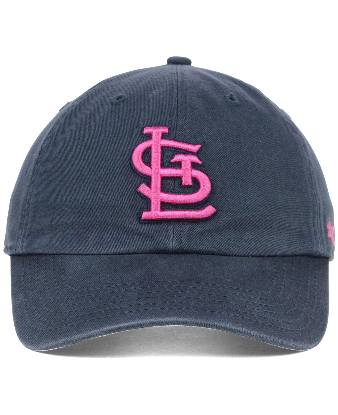 the latest 5a75a 79c94 ... discount code for lyst 47 brand st. louis cardinals clean up cap in  blue for